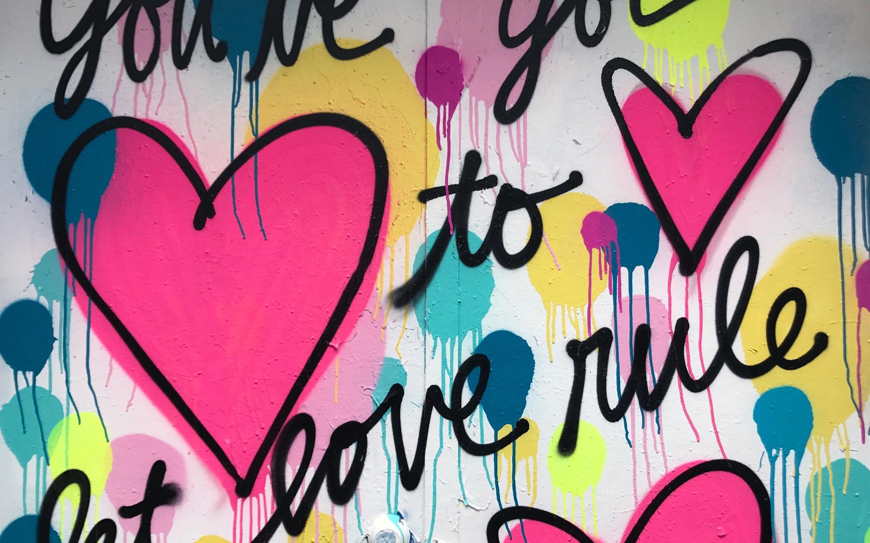 Graffiti Herz