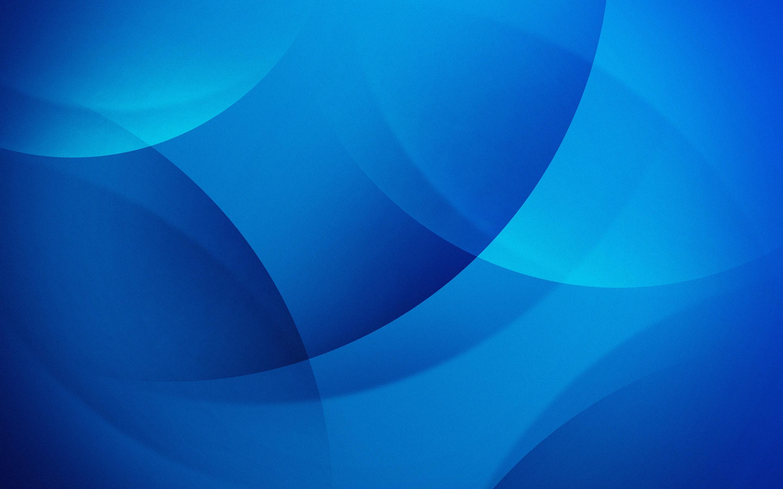 Fondos De Pantalla Círculos Azules, Resumen 2880x1800 HD