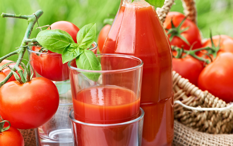 Tomaten Getränke, Tomatensaft 2880x1800 HD Hintergrundbilder, HD, Bild