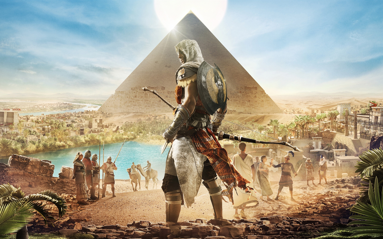 ubisoft excavated ancient egypt - HD2880×1800