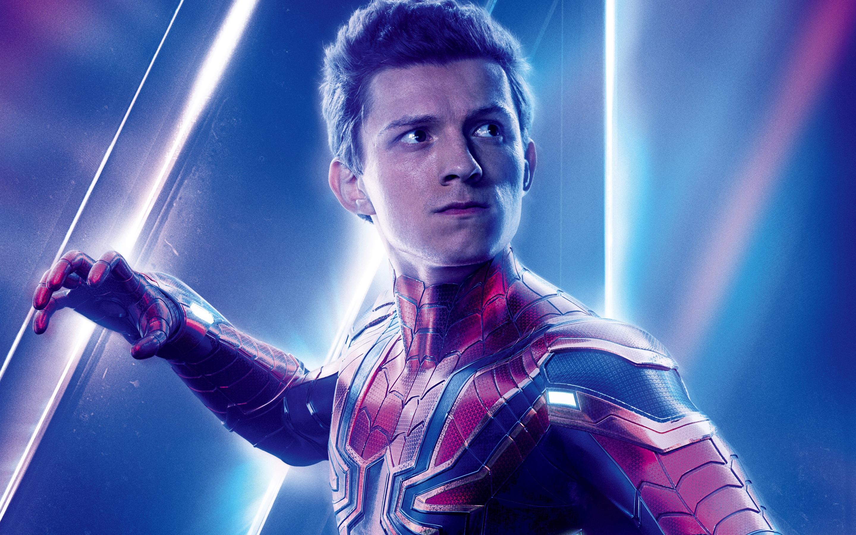 Wallpaper Spider Man Avengers Infinity War 2880x1800 Hd