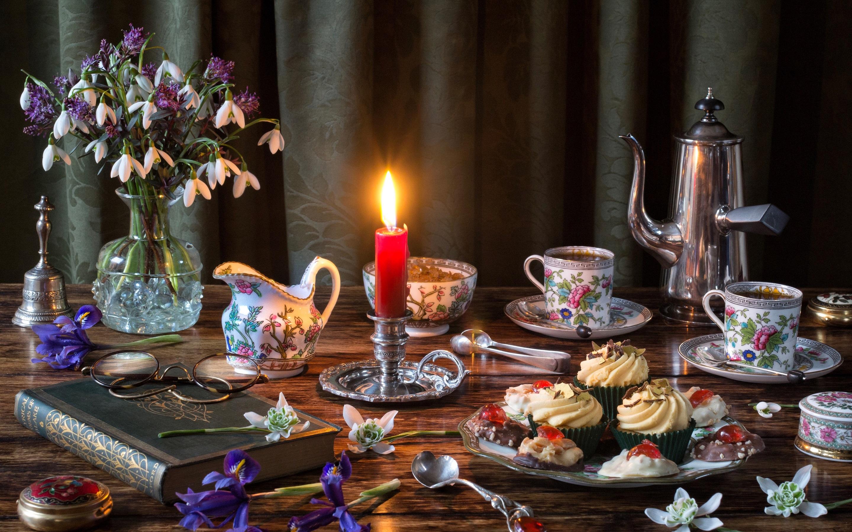 Красивые открытки чаепитие