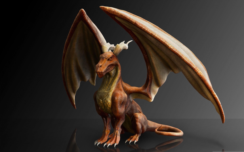 Fonds Décran Dragon Mythologie Ailes Design 3d 2880x1800