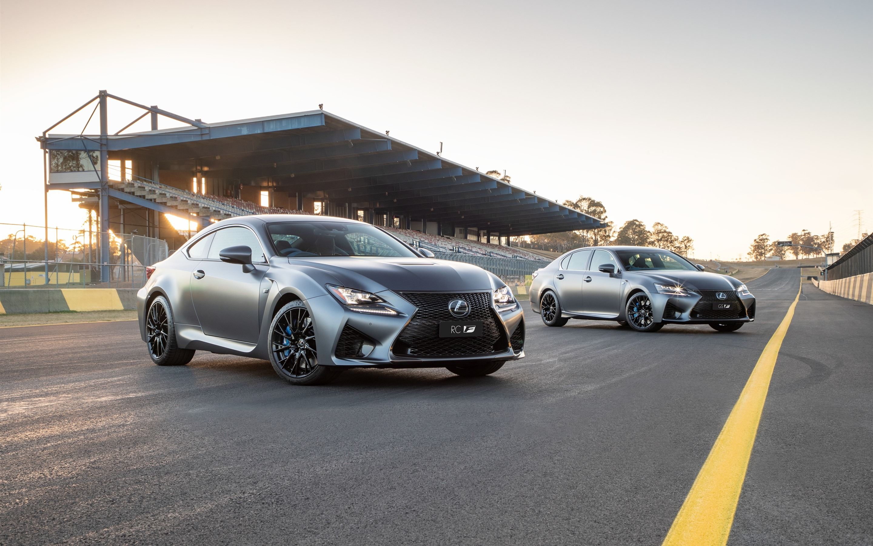 Wallpaper Lexus Rc And Gs Silver Cars 2880x1800 Hd Picture Image