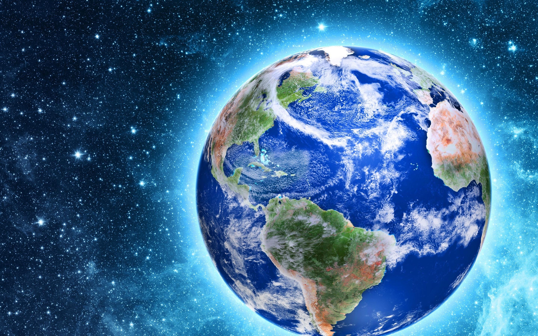 Fonds D écran Notre Belle Planète Terre Lueur étoiles
