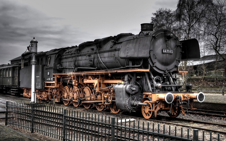 Wallpaper Old Train Steam Train 2880x1800 Hd Picture Image