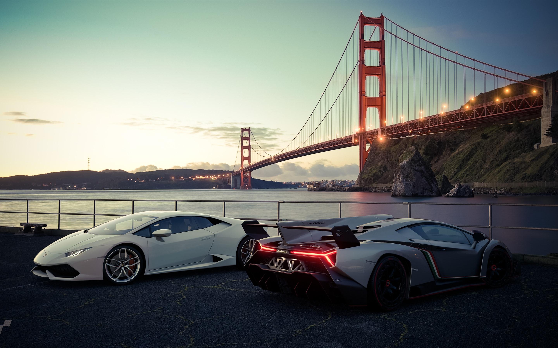 Wallpaper White And Silver Lamborghini Luxury Sport Cars San