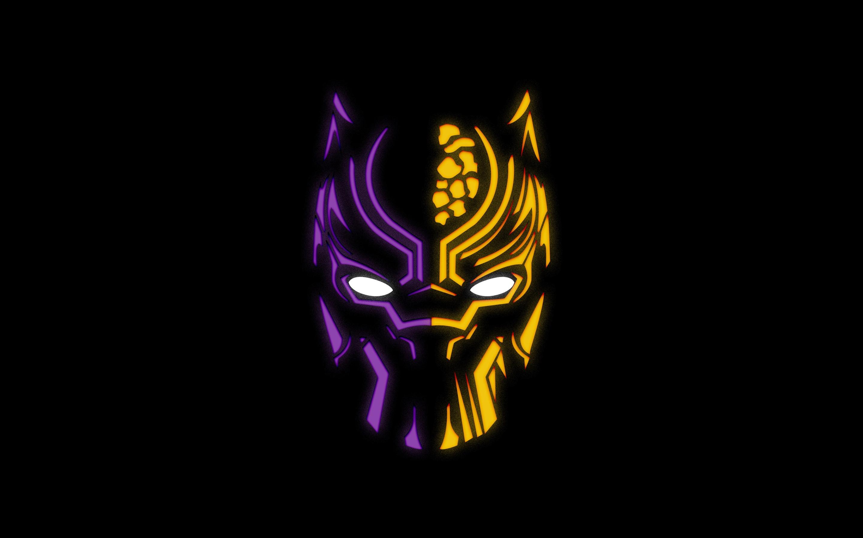 Fonds D Ecran Panthere Noire Logo Fond Noir 3840x2160 Uhd 4k Image