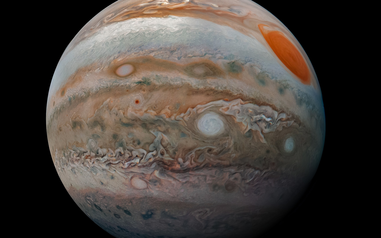 Wallpaper Jupiter Black Background 2880x1800 Hd Picture Image