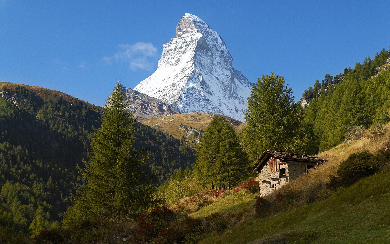 Fondos De Pantalla Suiza Zermatt Alpes Montaña árboles