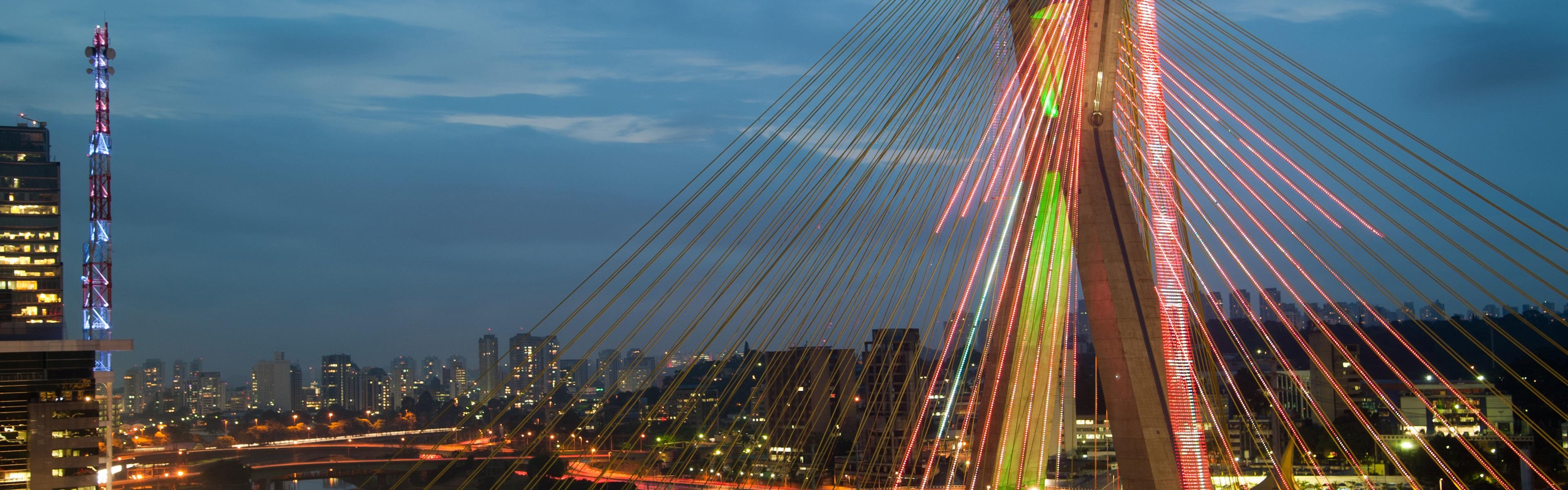 Обои sao paulo, мосты, Бразилия. Города foto 9