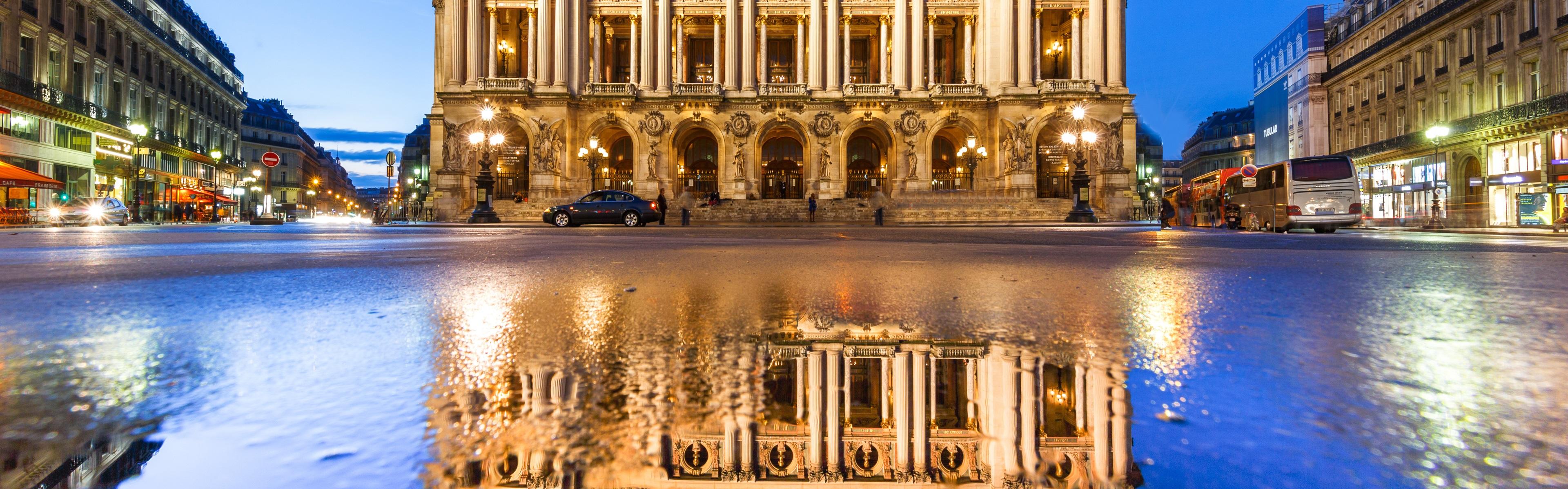 страны архитектура гранд опера париж франция  № 3971732 загрузить