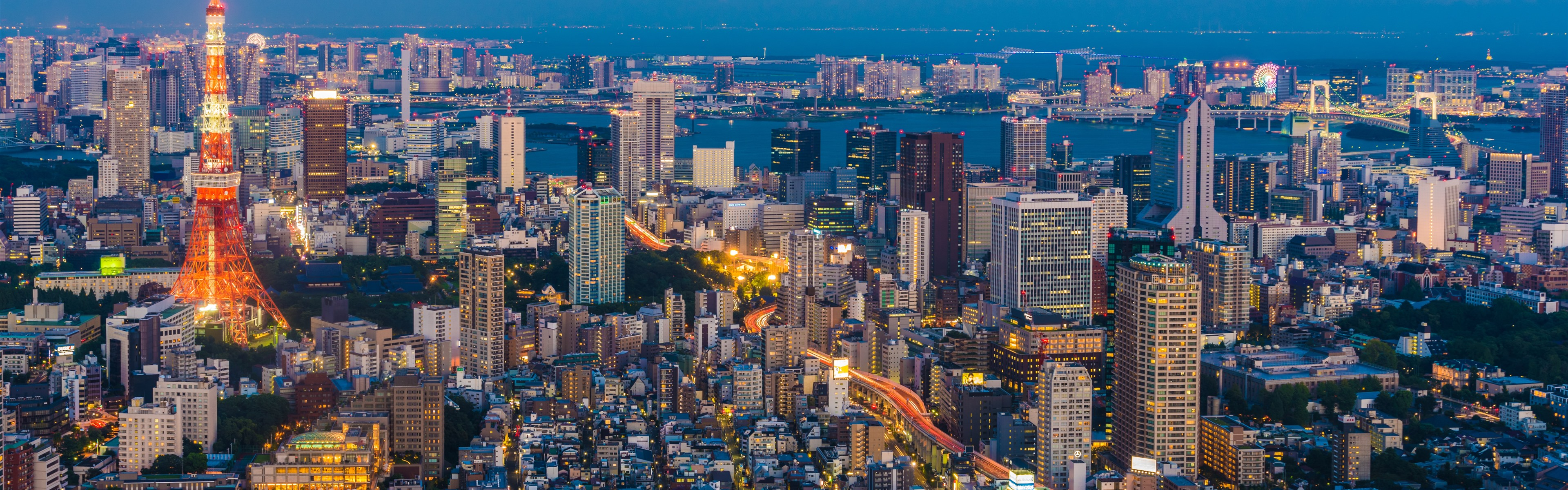 日本 東京 街並み 夜 ライト 高層ビル タワー 1242x26 Iphone 11 Pro Xs Max 壁紙 背景 画像