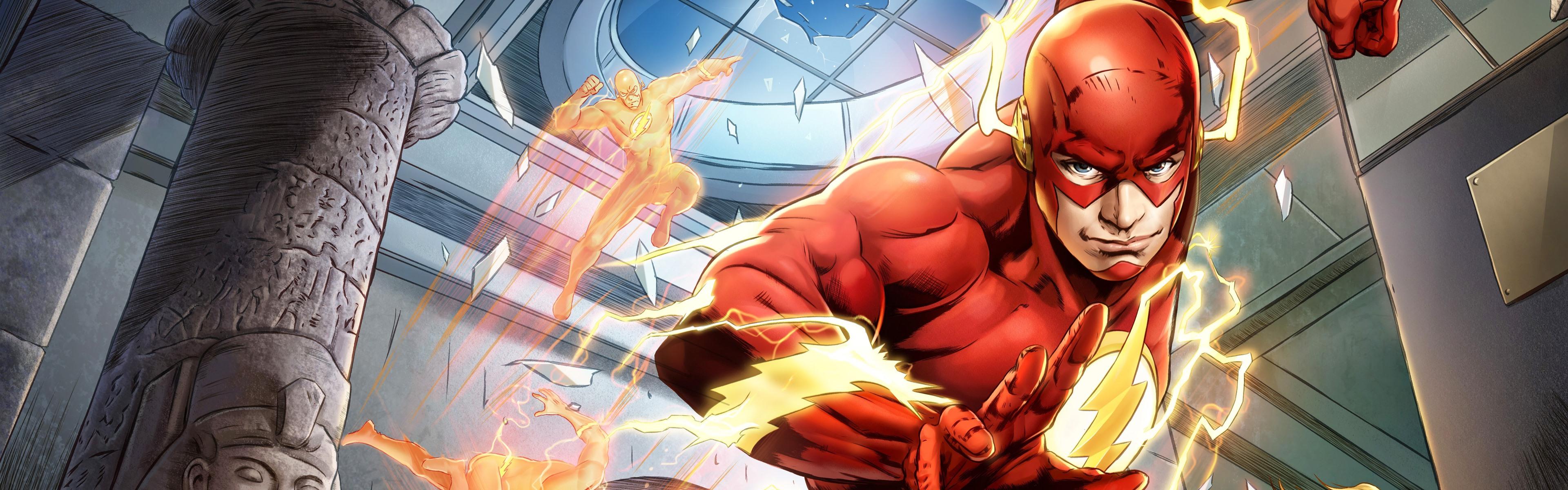 Wallpaper The Flash Dc Comics Hero 5120x2880 Uhd 5k Picture Image