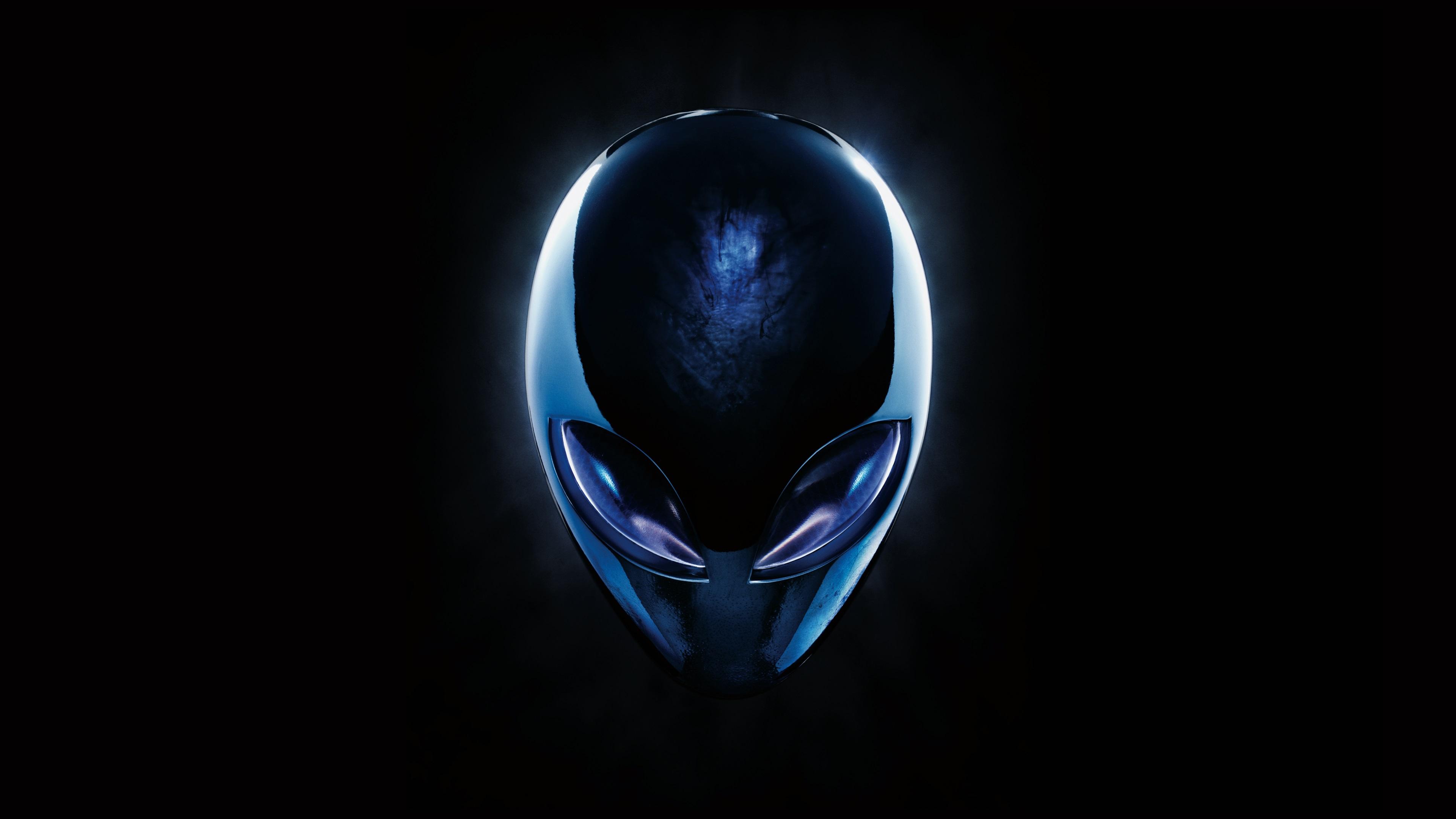 壁紙 Alienwareのロゴ 3840x2160 Uhd 4k 無料のデスクトップの背景 画像