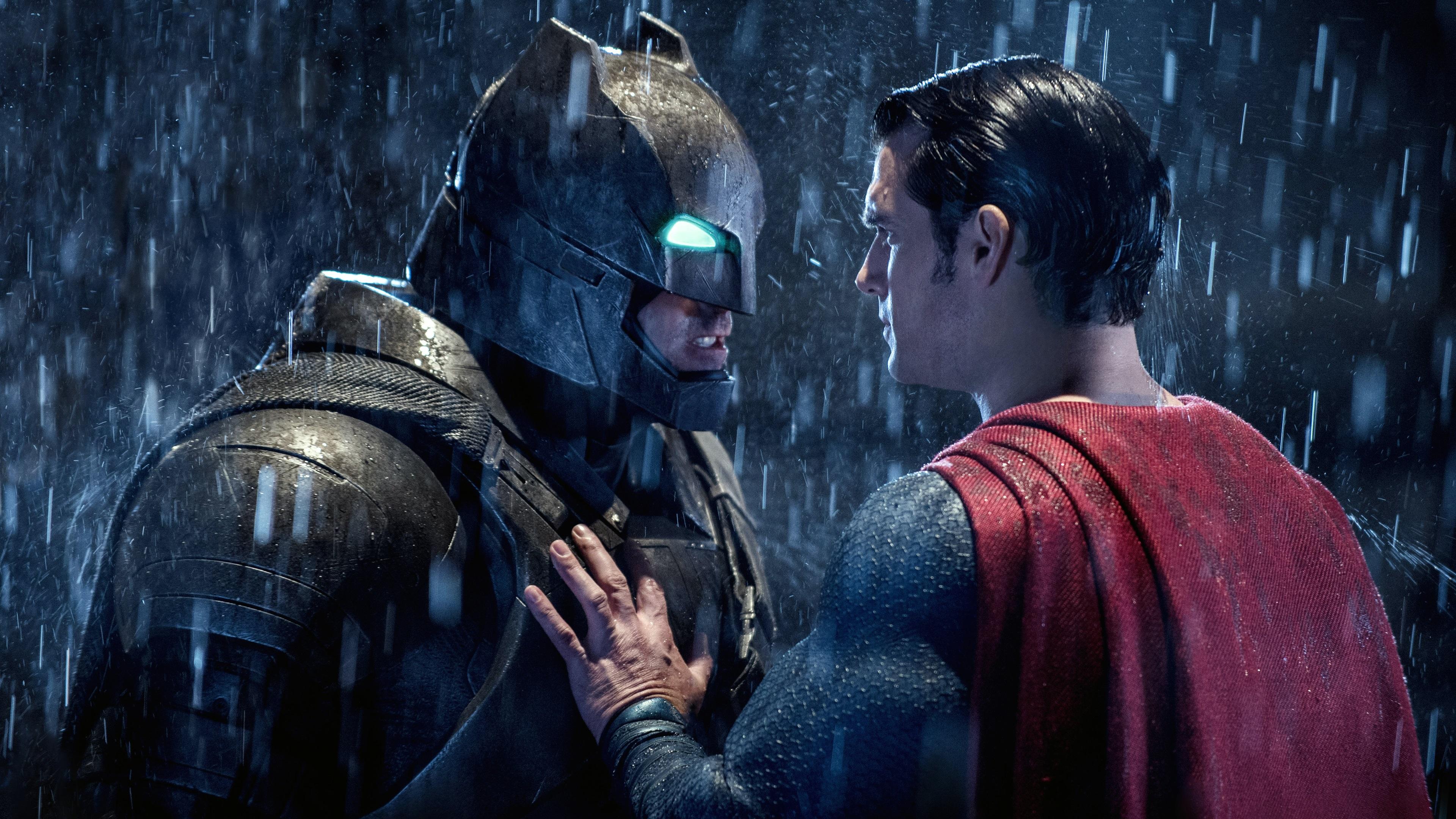 Wallpaper Batman V Superman 2016 Heroes Face To 3840x2160 UHD