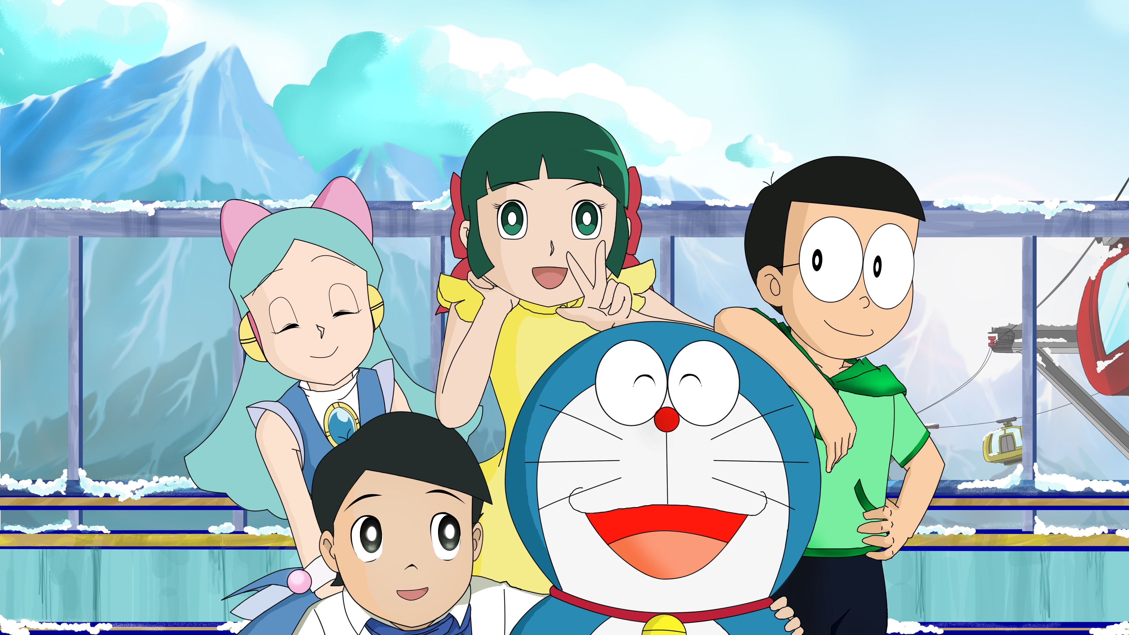 4000+ Wallpaper Of Doraemon Download  Paling Baru