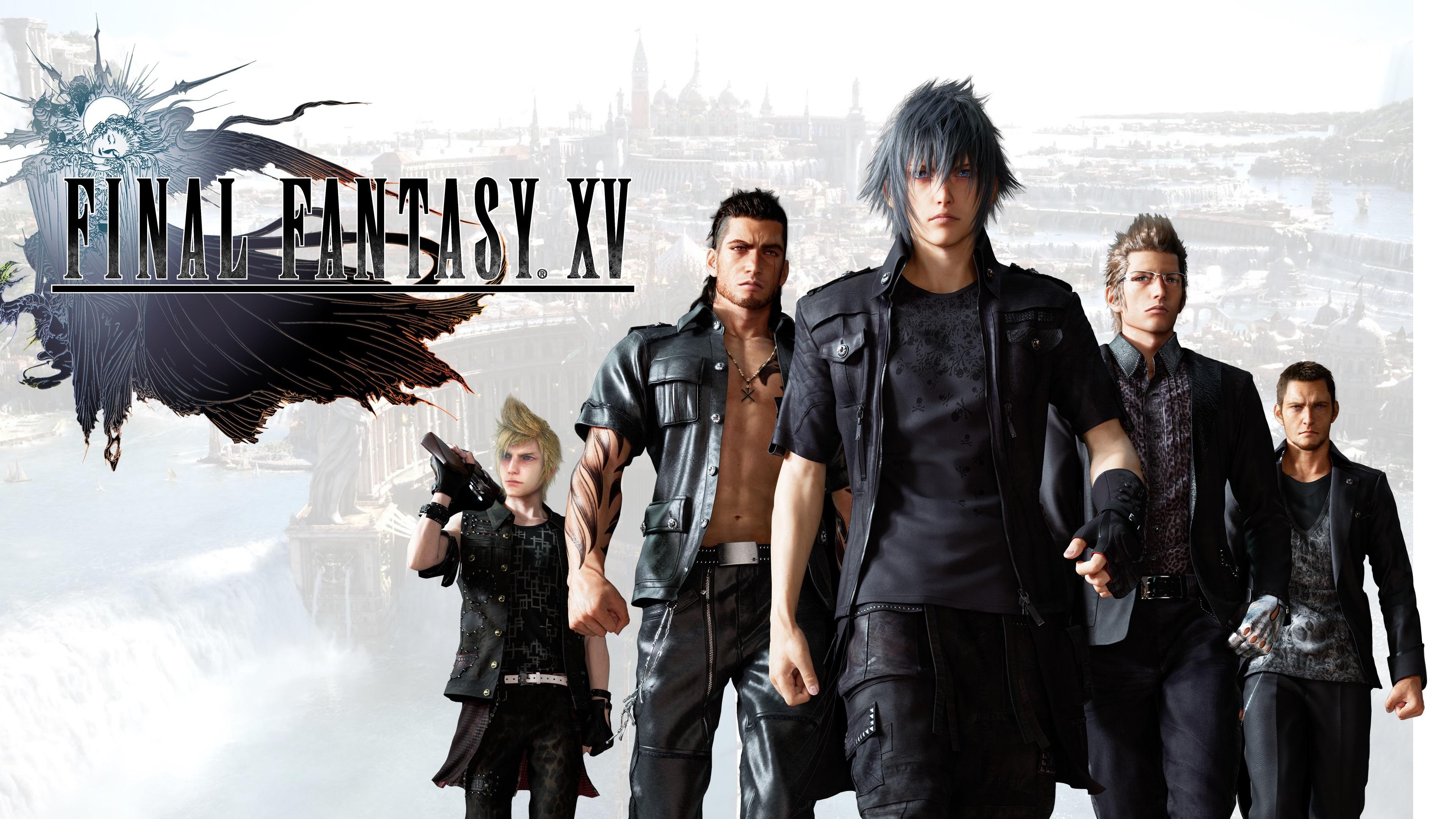 Final Fantasy XV 3840x2160 UHD 4K