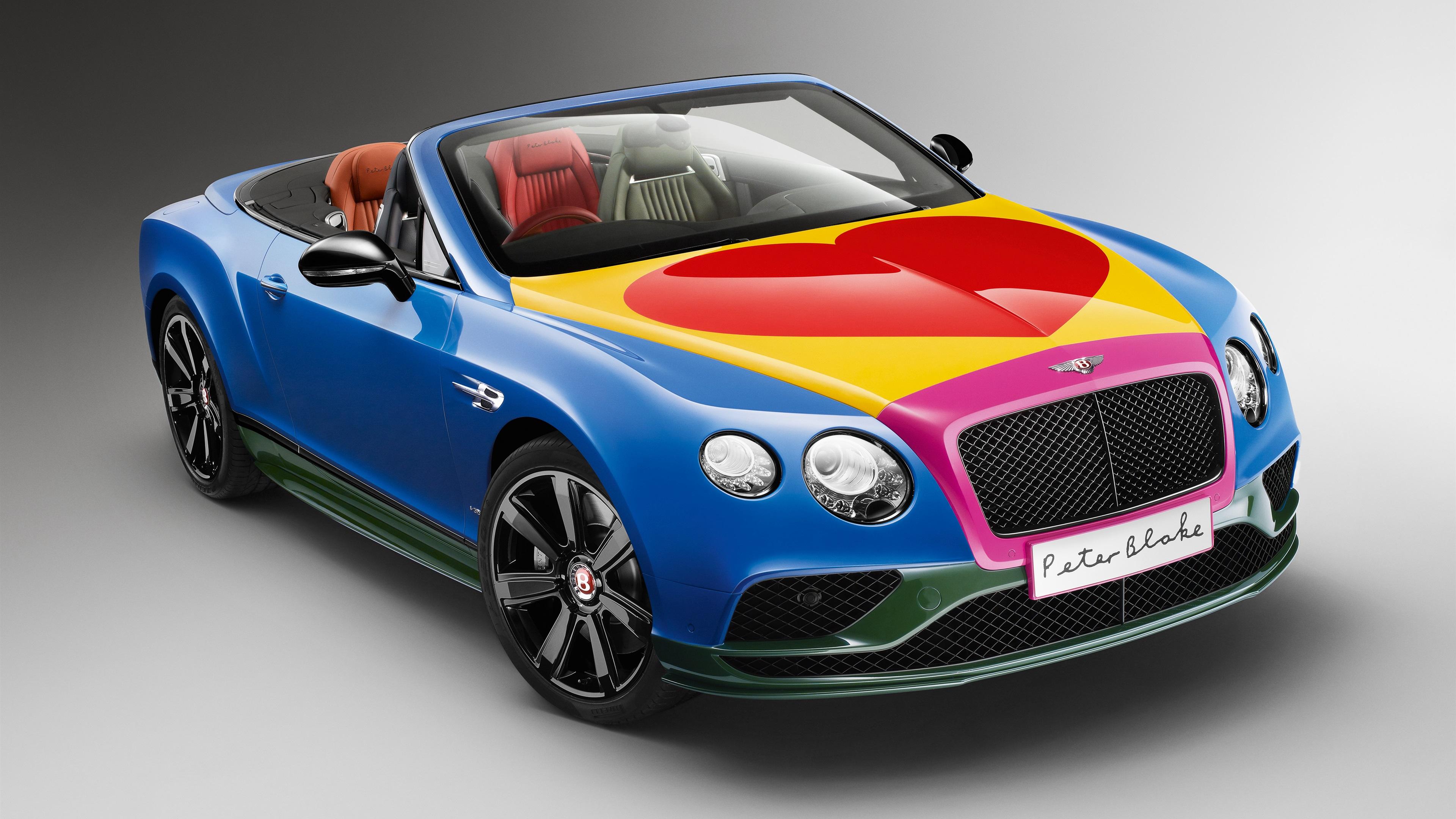 fonds d 39 cran bentley continental gt v8 de voiture d capotable de belles couleurs 3840x2160 uhd. Black Bedroom Furniture Sets. Home Design Ideas