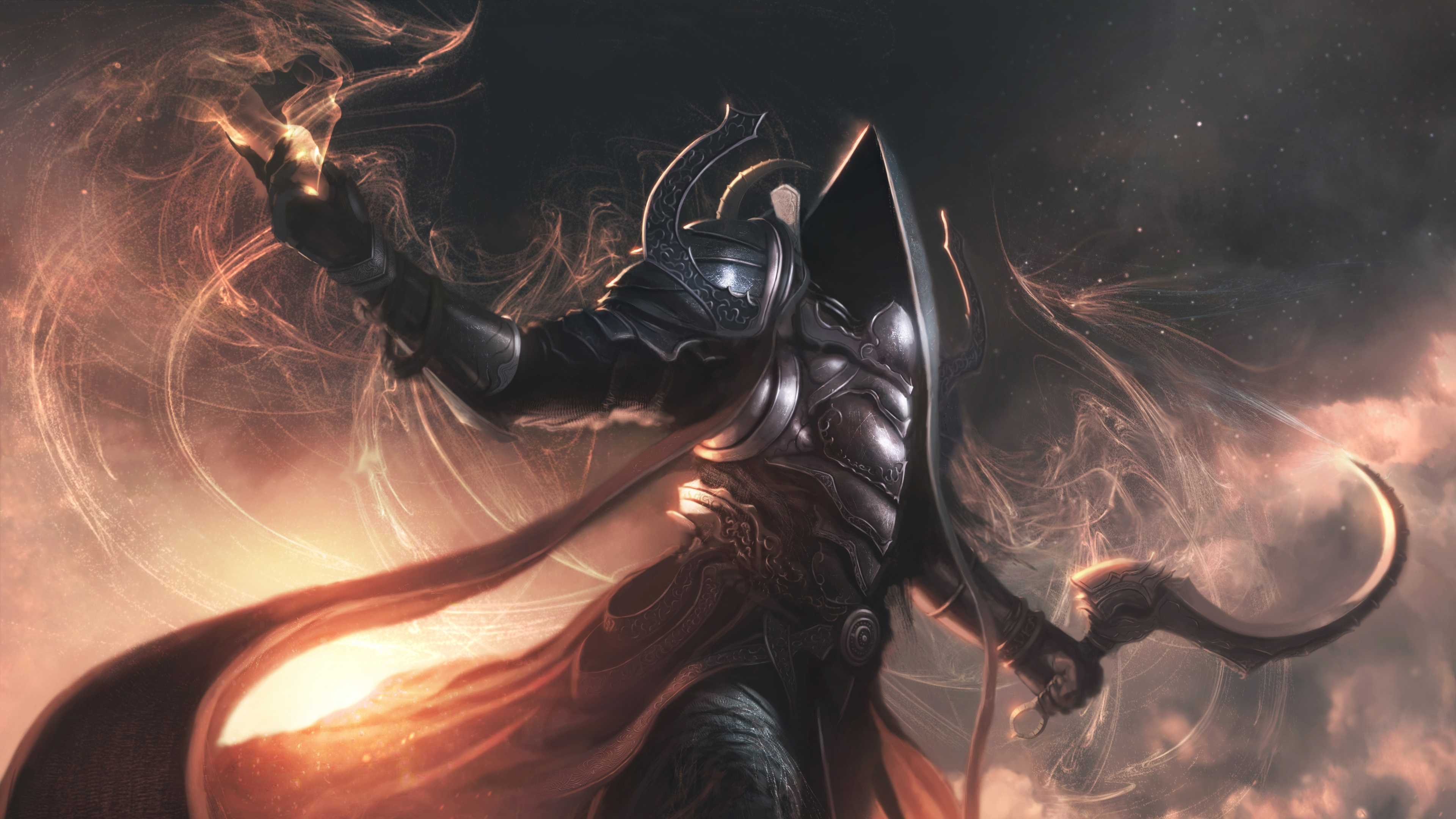Wallpaper Diablo 3 Reaper Of Souls 3840x2160 Uhd 4k Picture Image