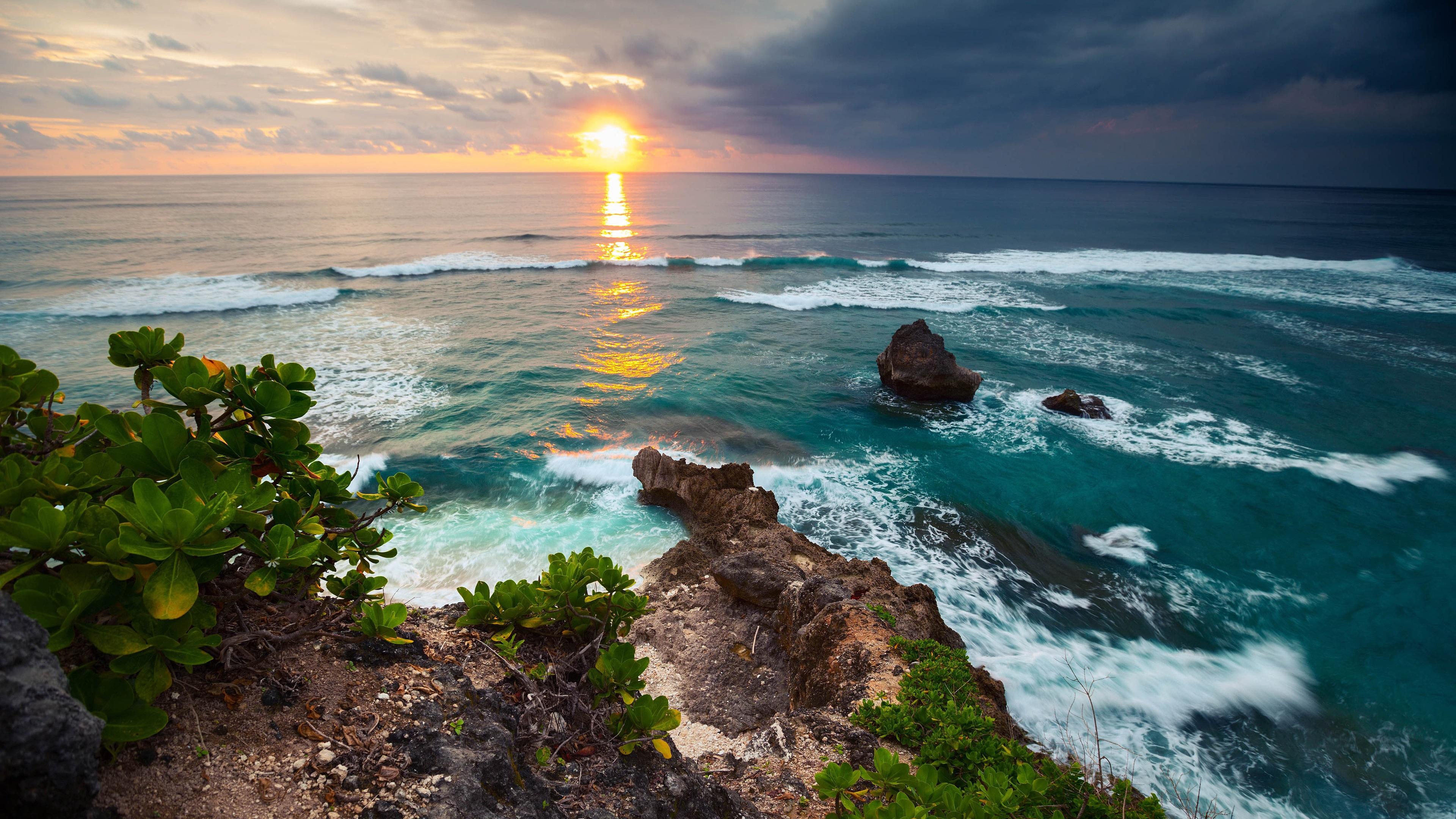 Fondos De Pantalla Indonesia La Isla De Bali Paisaje De La
