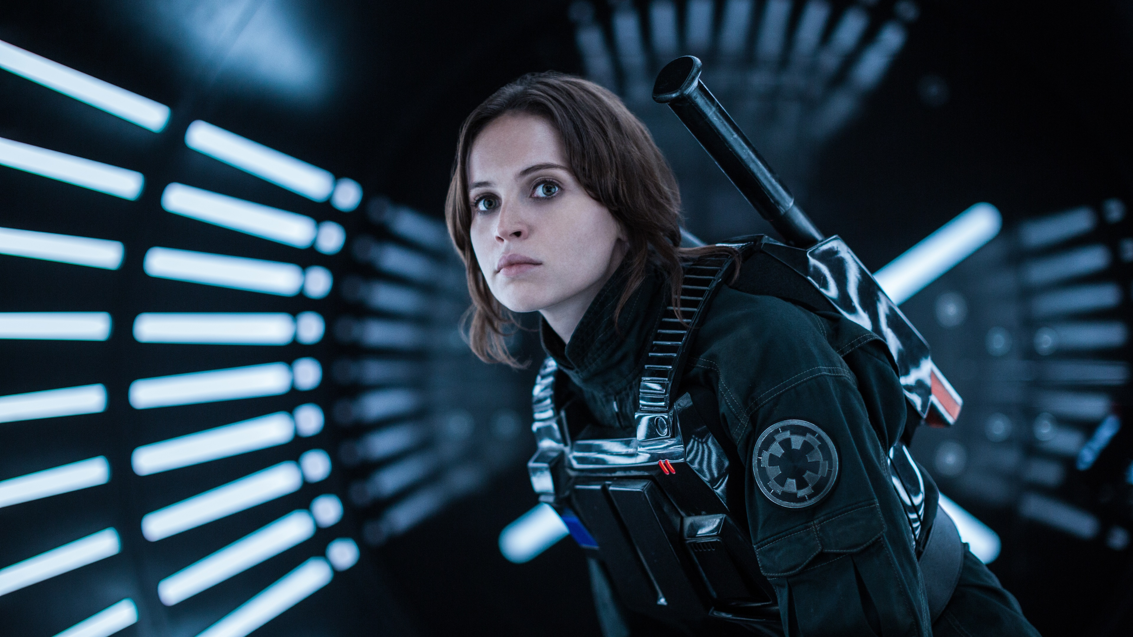 Wallpaper Rogue One A Star Wars Story Felicity Jones 3840x2160 Uhd 4k Picture Image