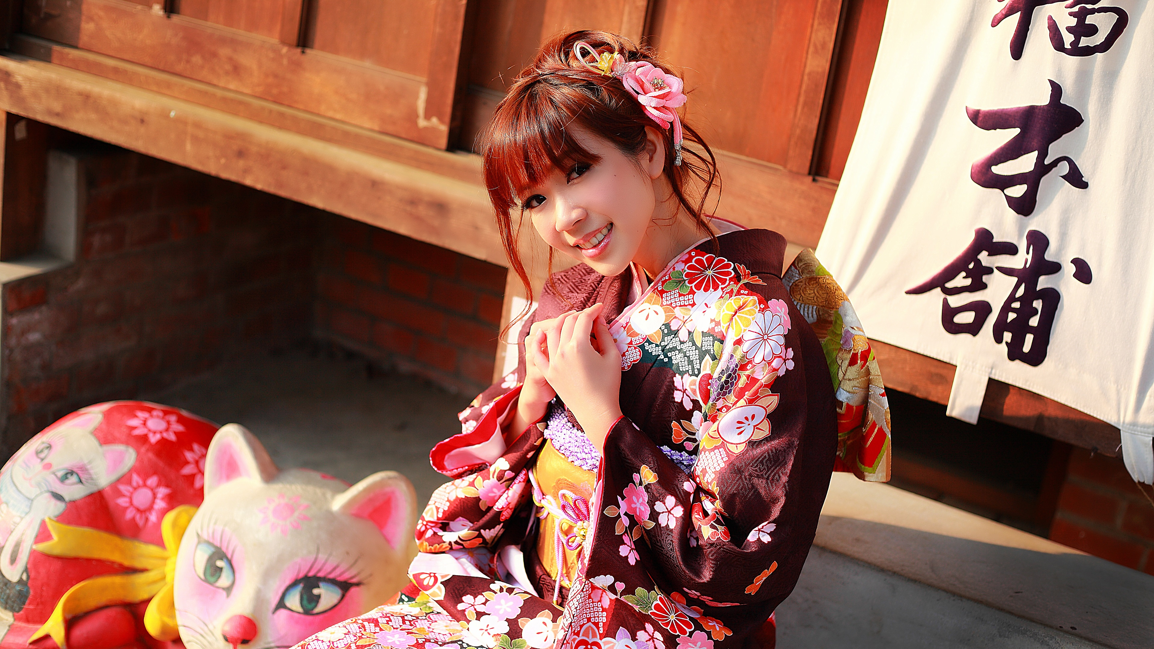 壁紙 日本人の美しい着物 3840x2160 Uhd 4k 無料のデスクトップの背景