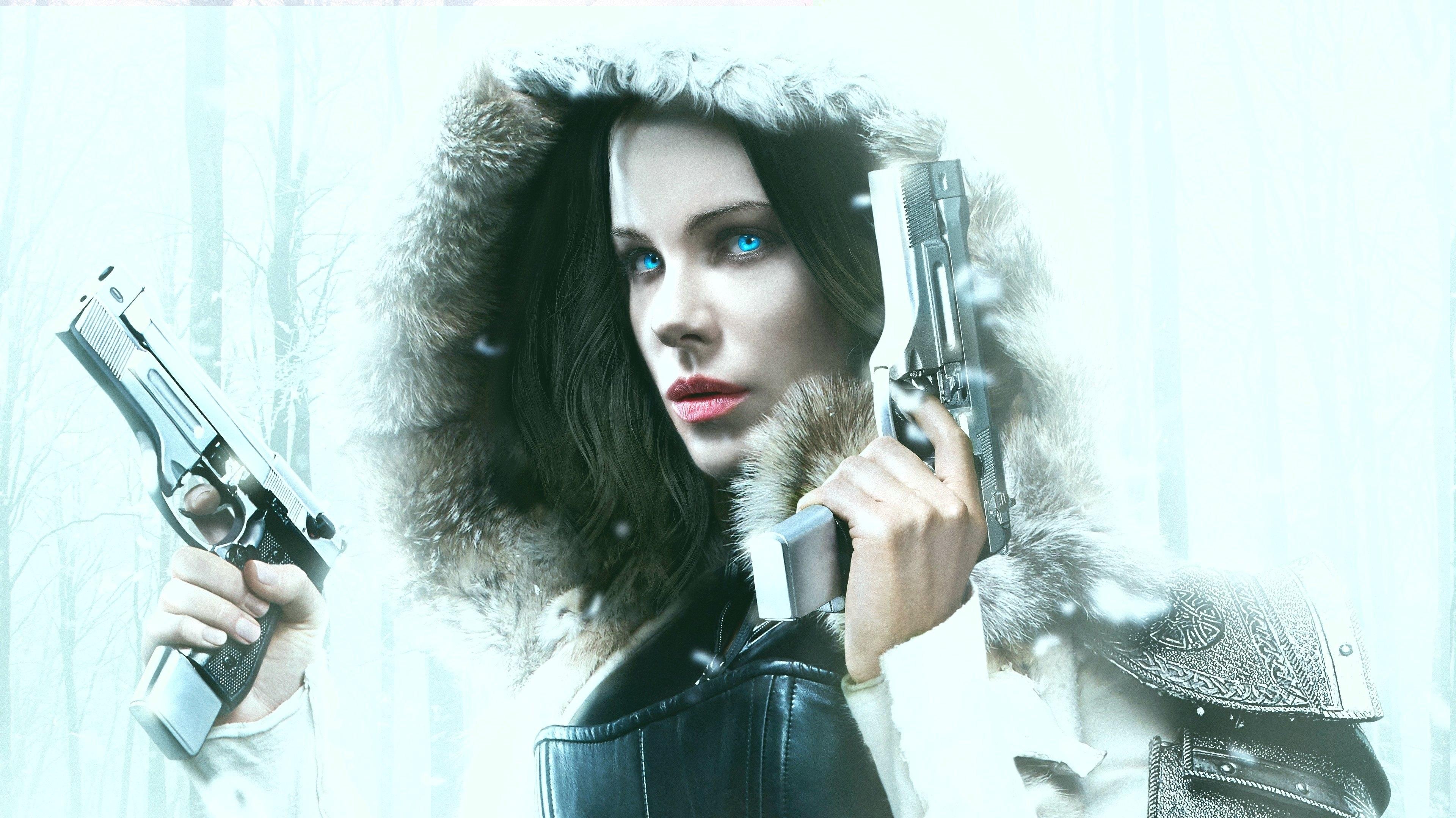 Wallpaper Underworld Blood Wars 2016 Kate Beckinsale 3840x2160 Uhd 4k Picture Image