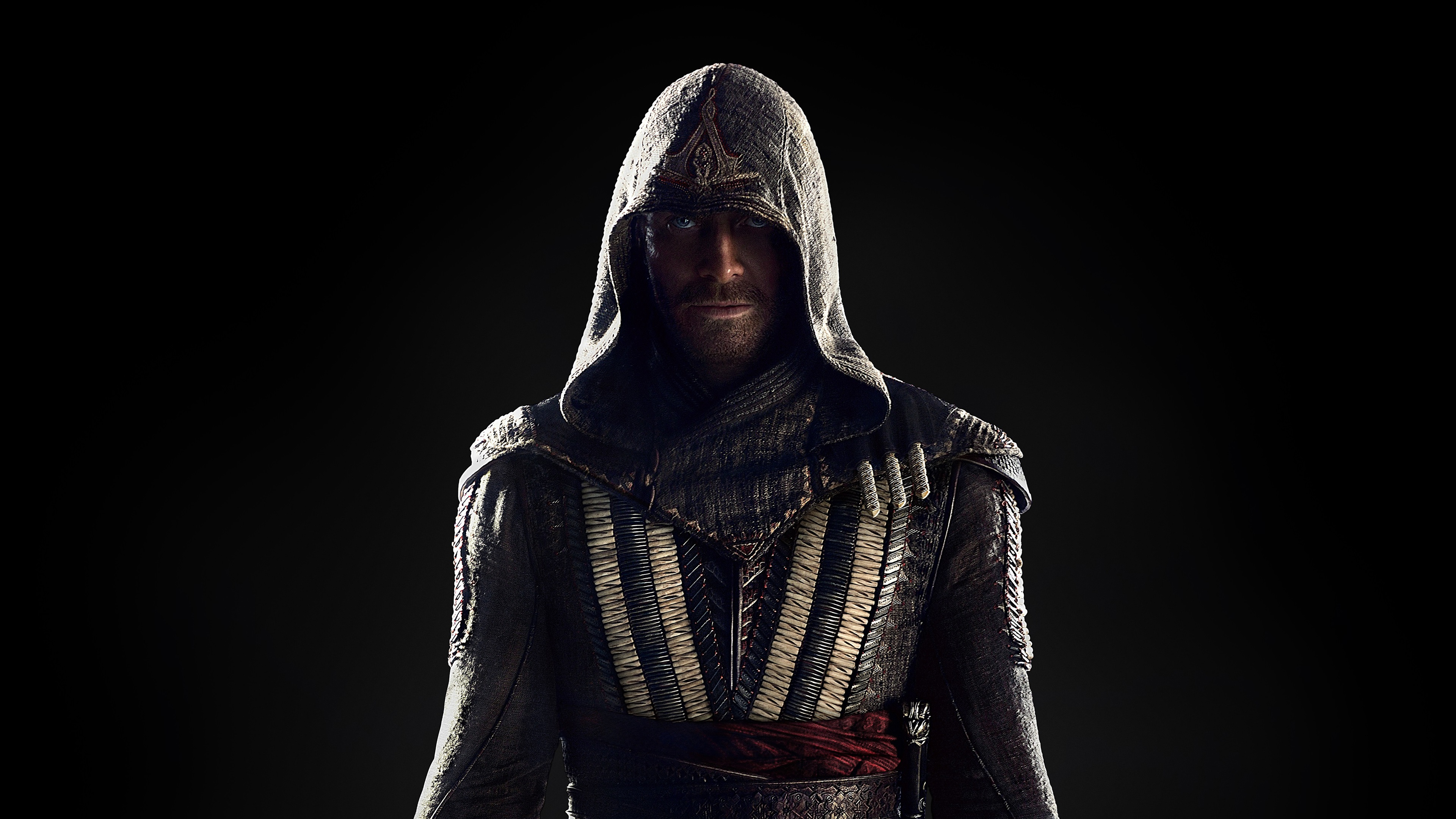 Michael Fassbender, Assassin's Creed 2016 movie wallpaper 3840x2160 UHD 4K