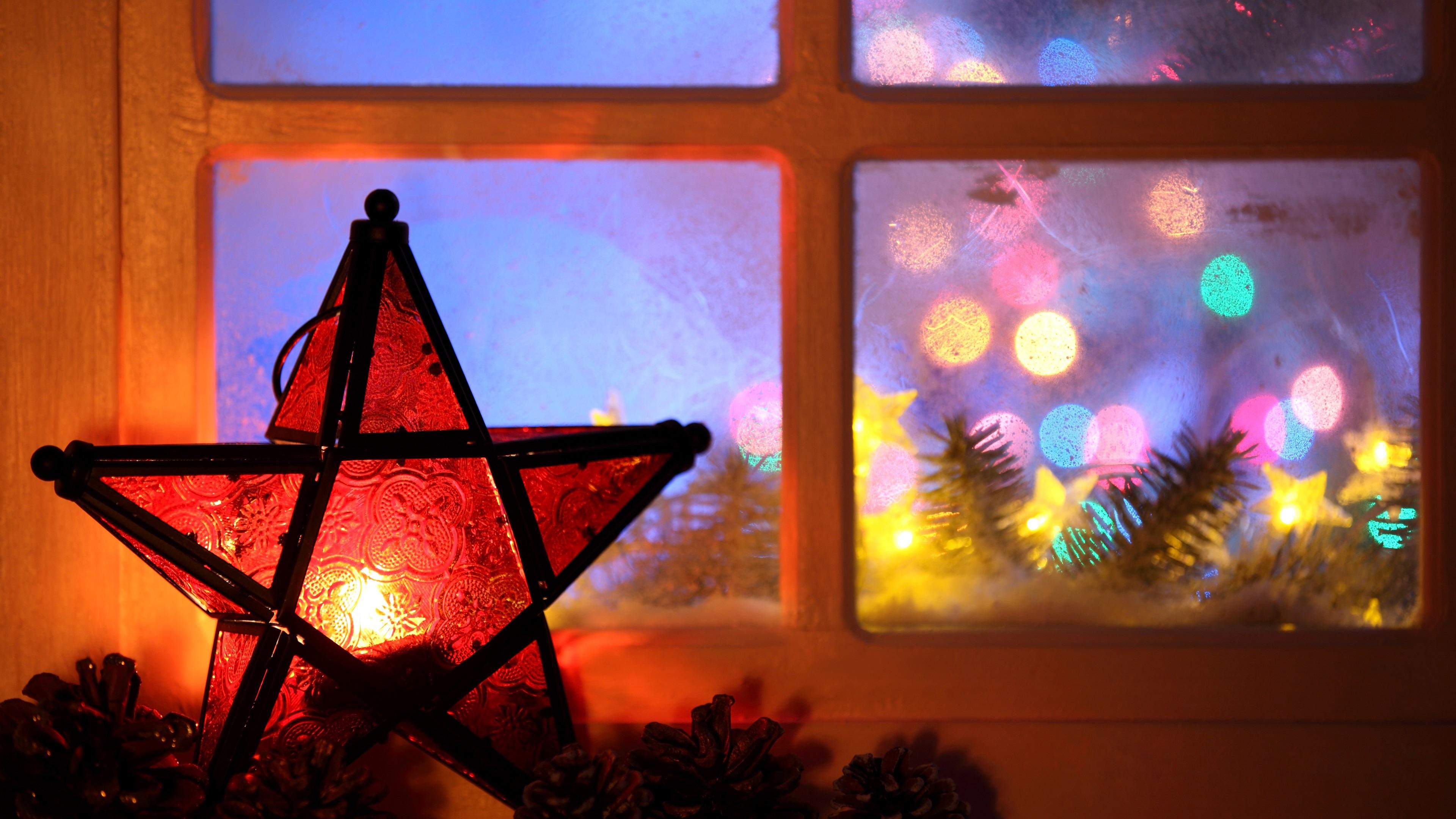 Neujahr Weihnachten 2017 Lichter Kerze F 252 Nfzackigen