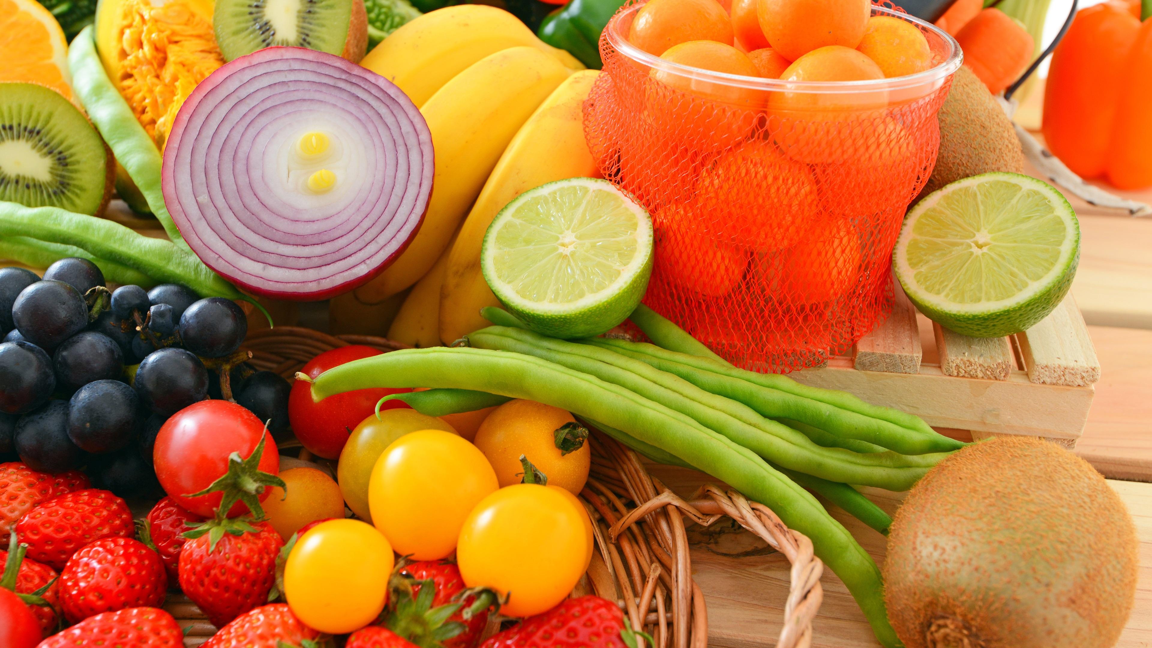 Фрукты с овощами смотреть