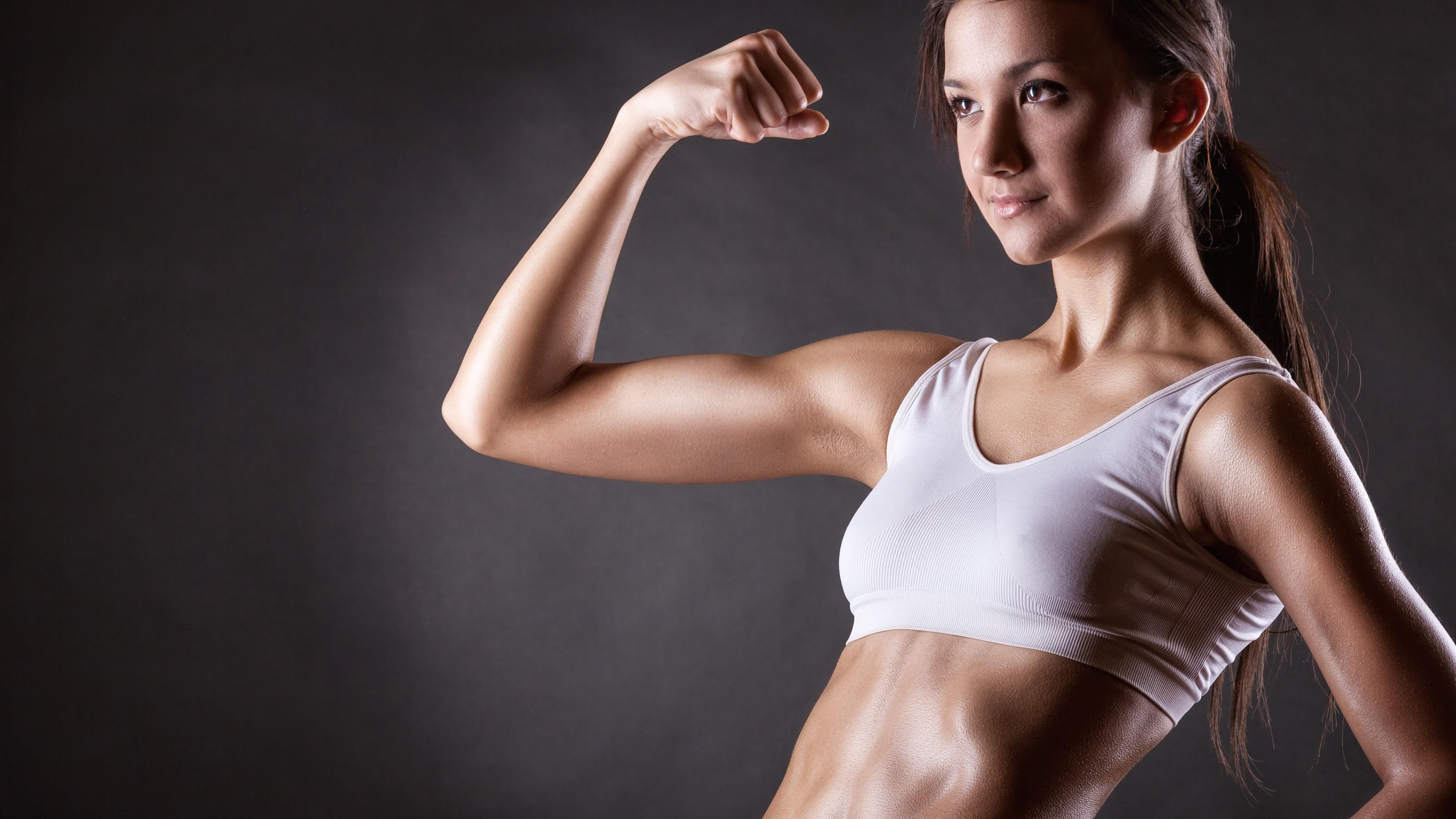 锻炼,性感的女孩图片