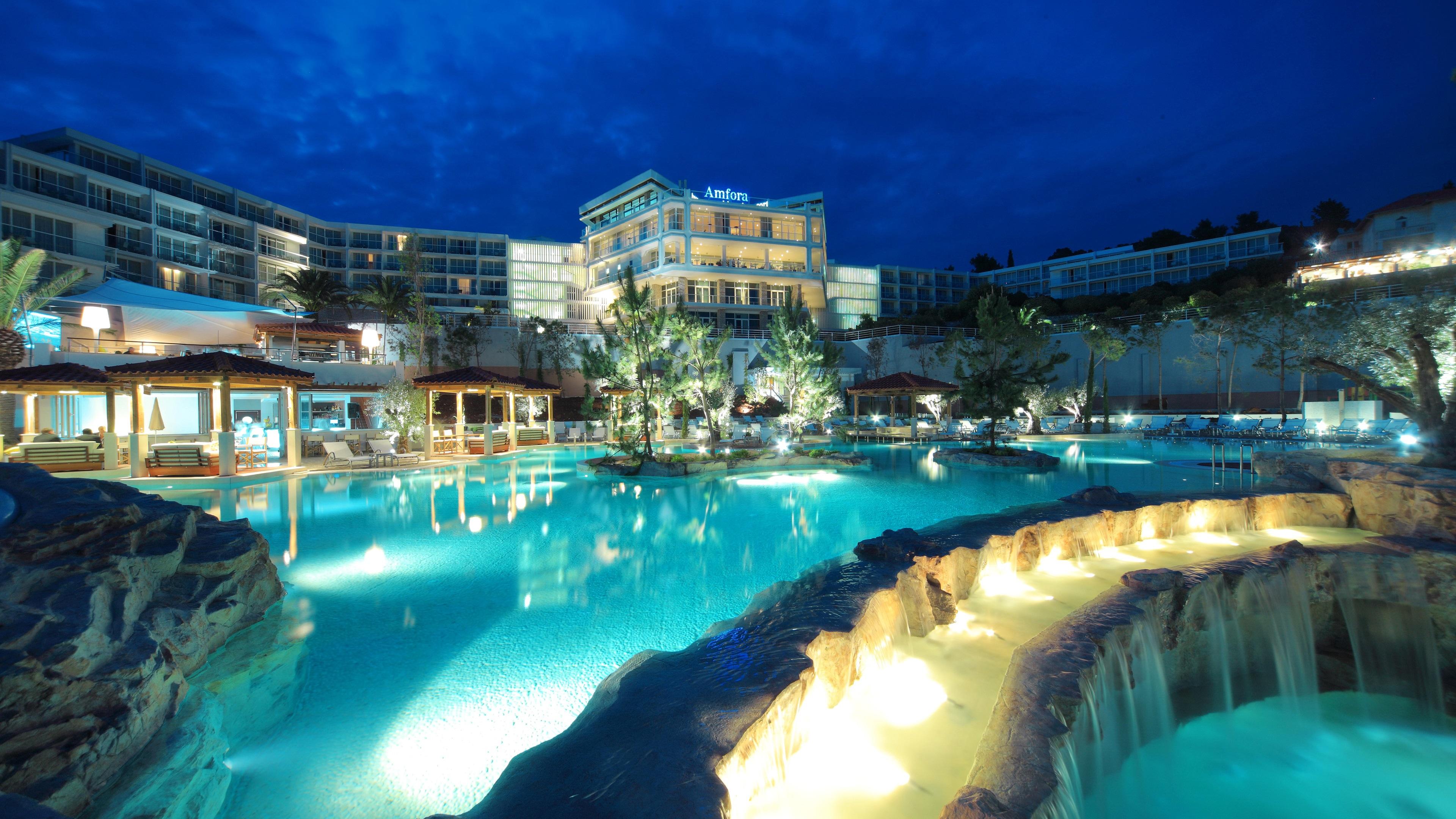 Обои курорт, Croata, дома. Города foto 18