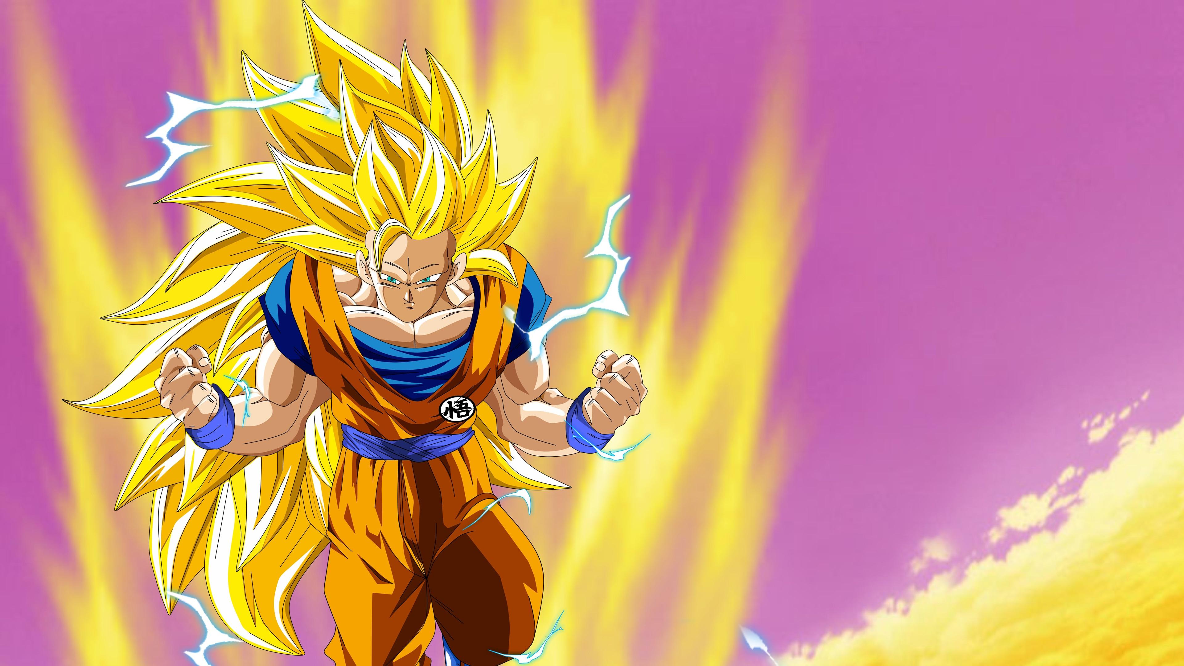 Wallpaper Dragon Ball, Goku, Japanese anime 3840x2160 UHD 4K Picture, Image