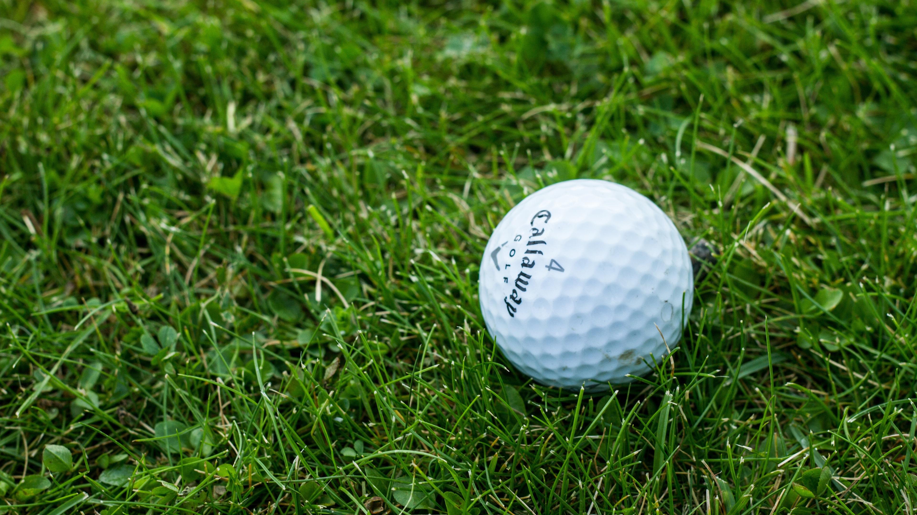 芝生のゴルフボール 1080x19 Iphone 8 7 6 6s Plus 壁紙 背景 画像