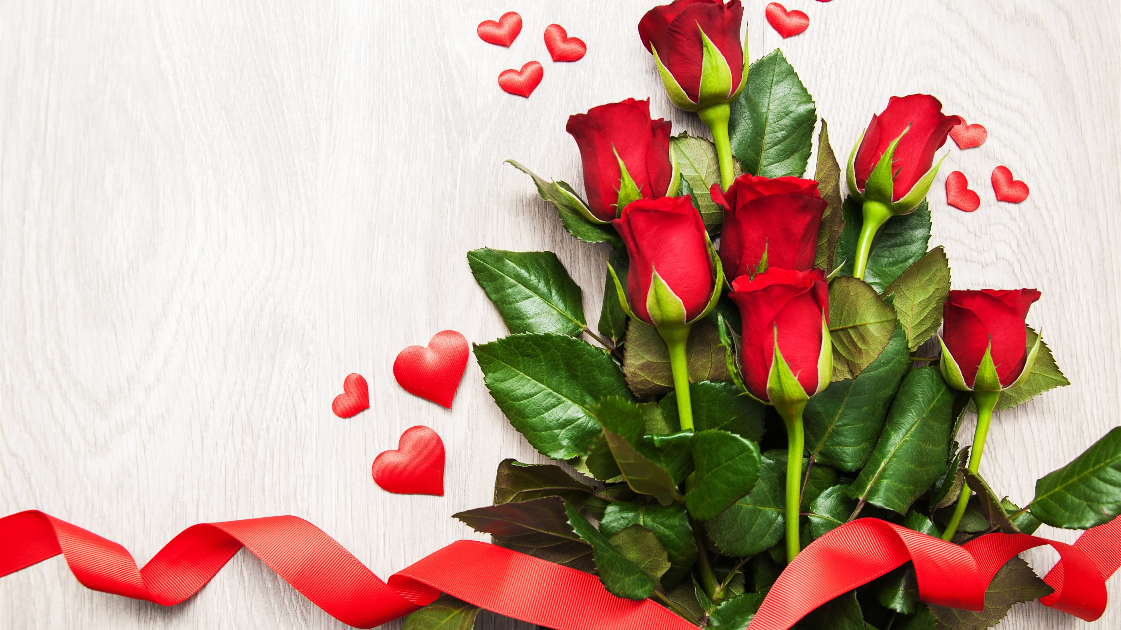 Fondos De Pantalla Rosas Rojas, Corazones Del Amor, Cinta