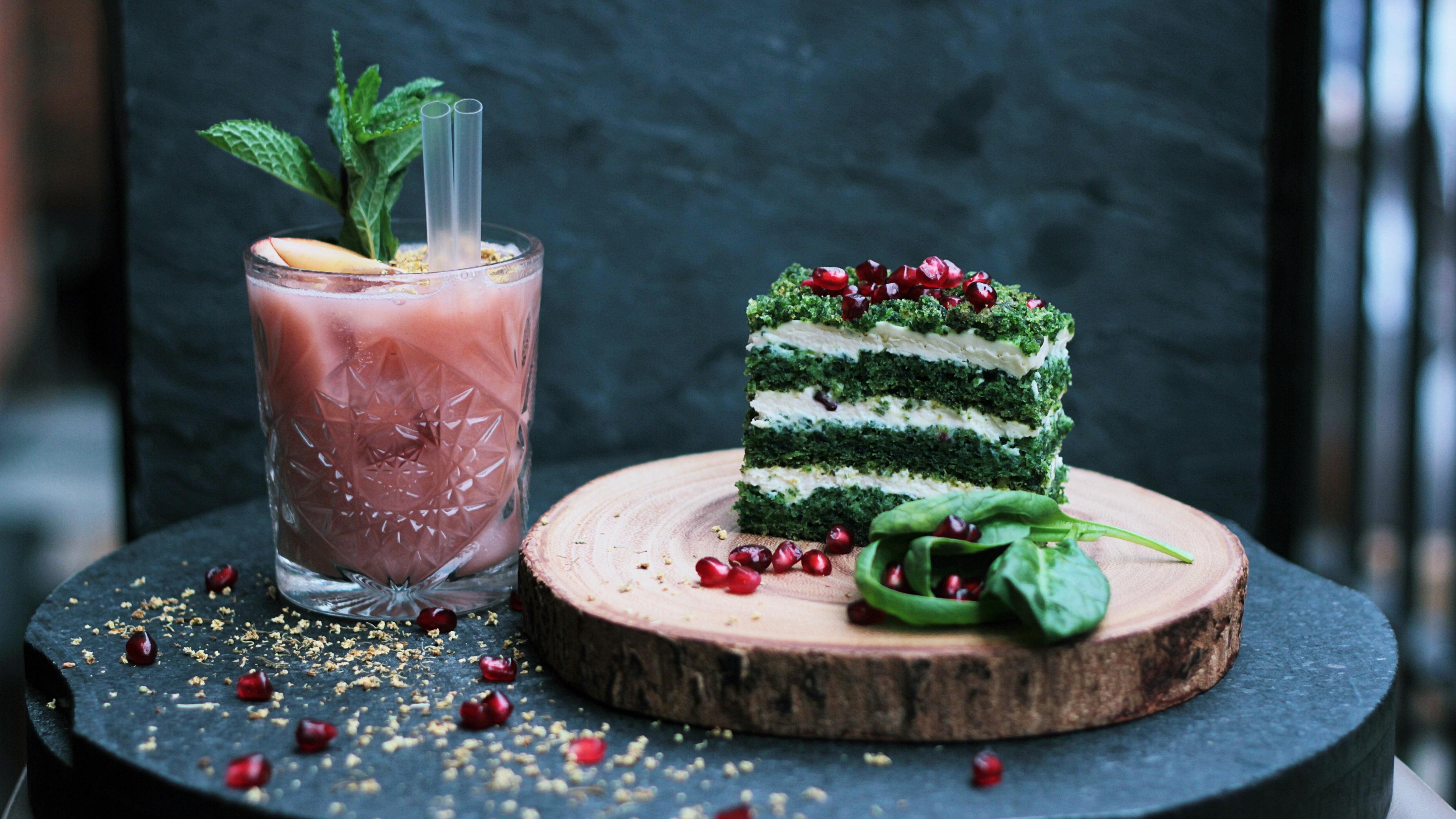 壁纸 甜品,蛋糕,饮料 3840x2160 Uhd 4k 高清壁纸 图片 照片