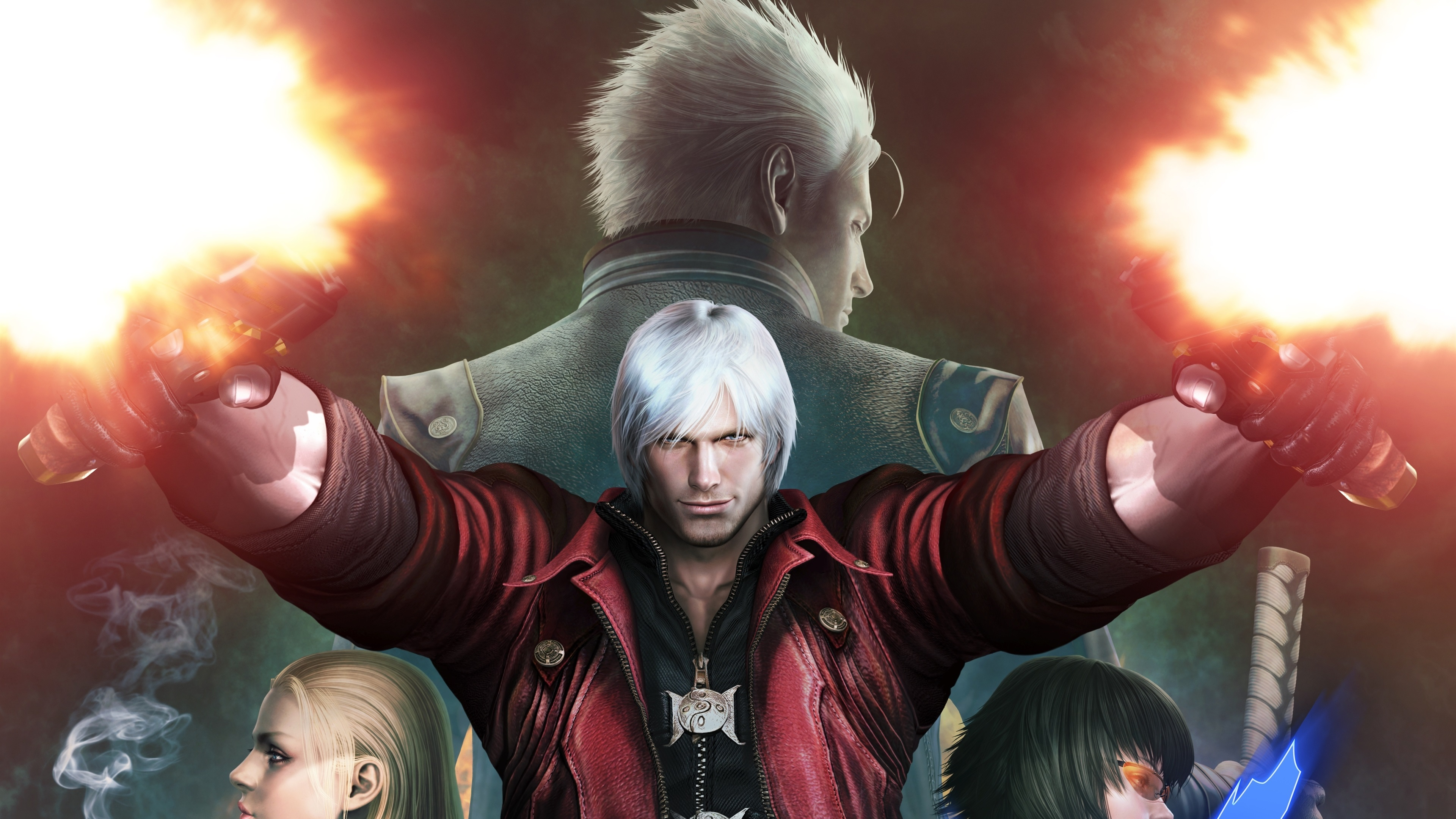 Wallpaper Devil May Cry Game Hd 3840x2160 Uhd 4k Picture Image
