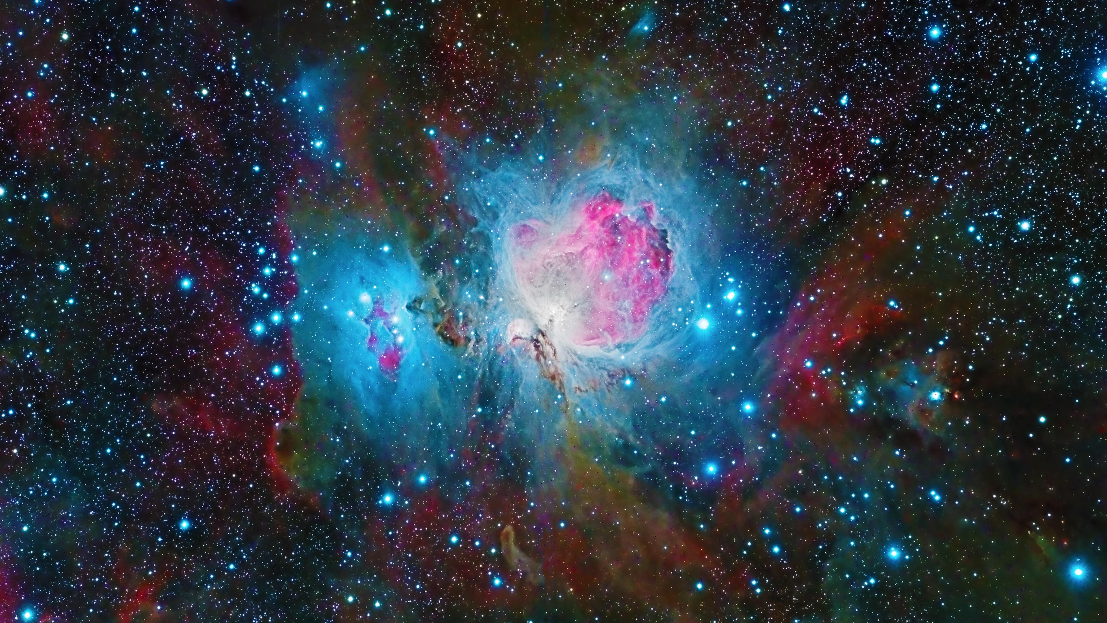 壁紙 オリオン星雲 美しい宇宙 星 3840x2160 Uhd 4k 無料のデスクトップの背景 画像