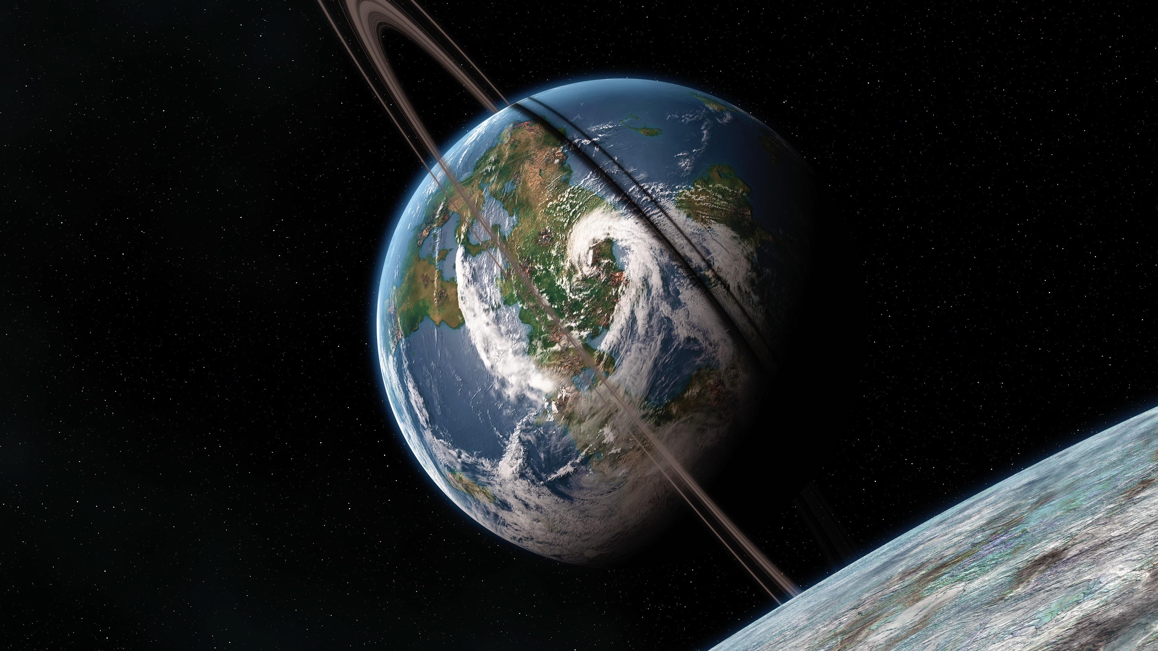 Planetas, Tierra, Espacio, Fondo Negro Fondos De Pantalla