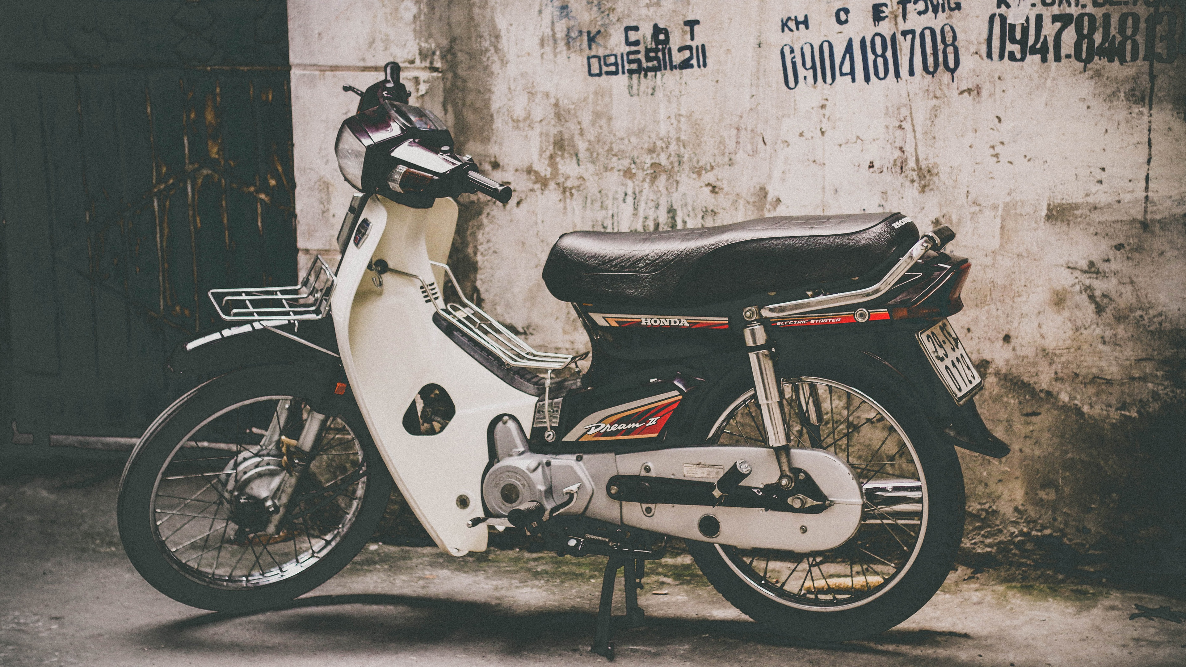 Wallpaper Honda Motorcycle Side View 3840x2160 Uhd 4k Picture Image