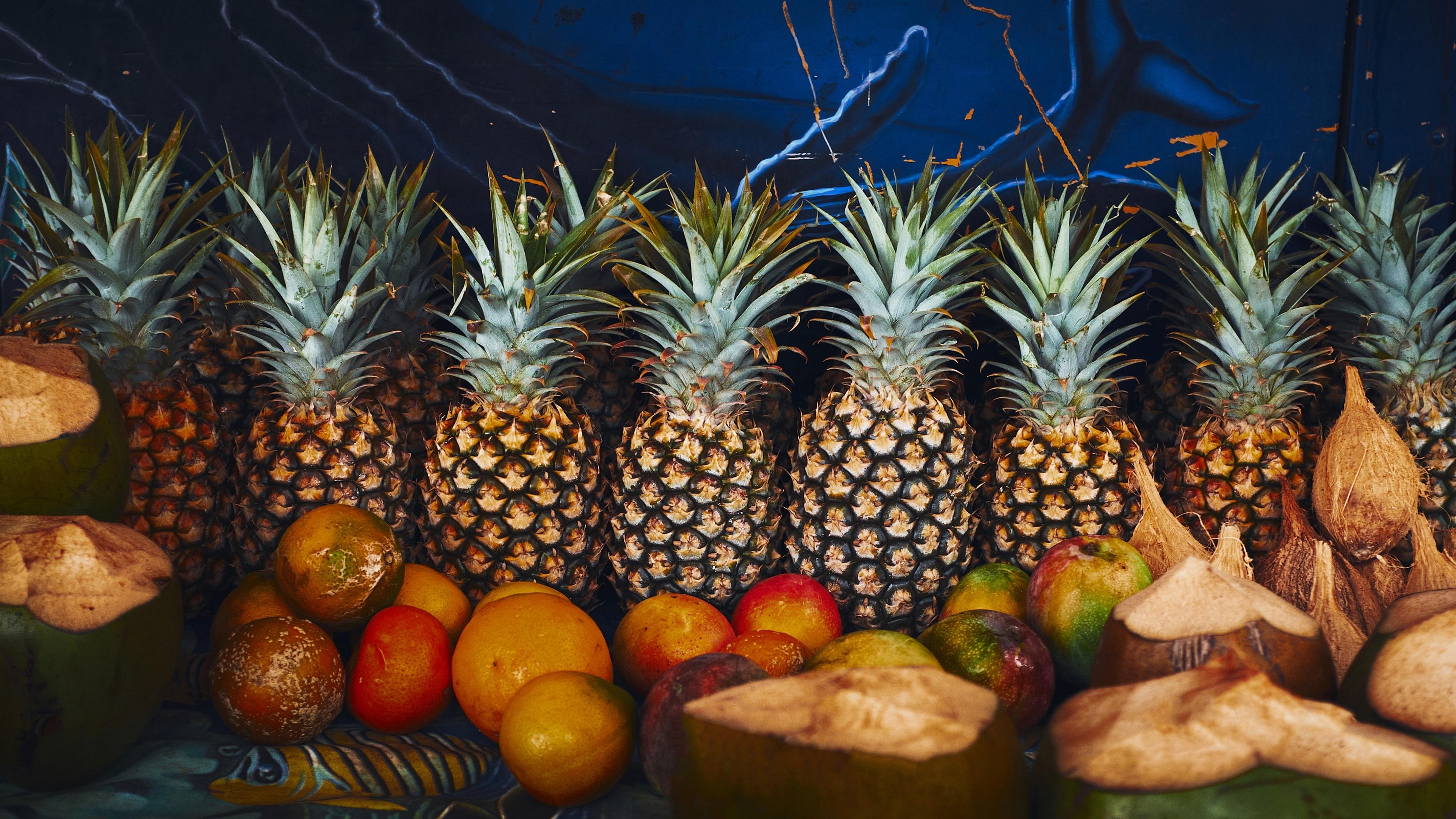 Pineapple oranges