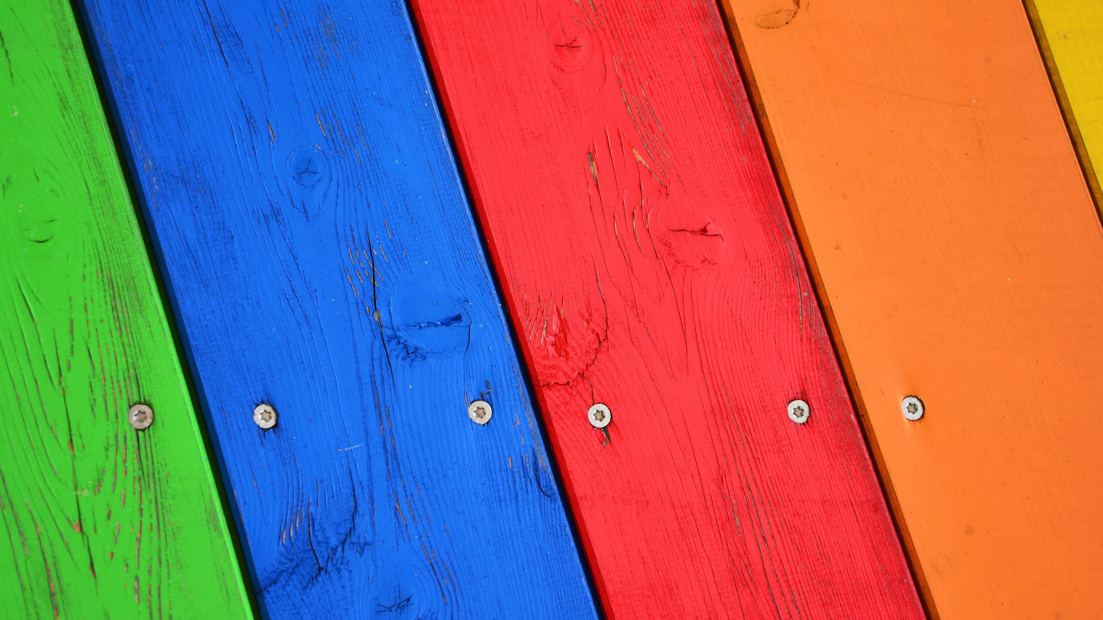 Fondos De Pantalla Fondo De Tablero De Madera De Colores: Fondos De Pantalla Tablero De Madera, Pintado De Colores