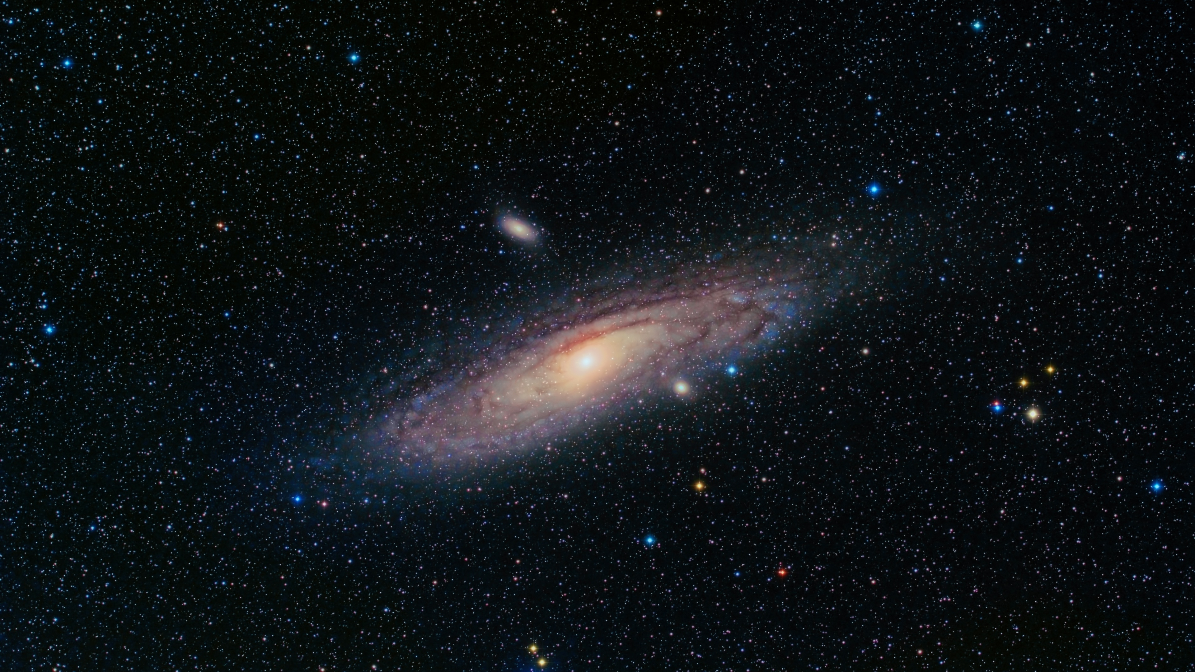 Fondos De Pantalla Andromeda Galaxy, Universo, Estrellas