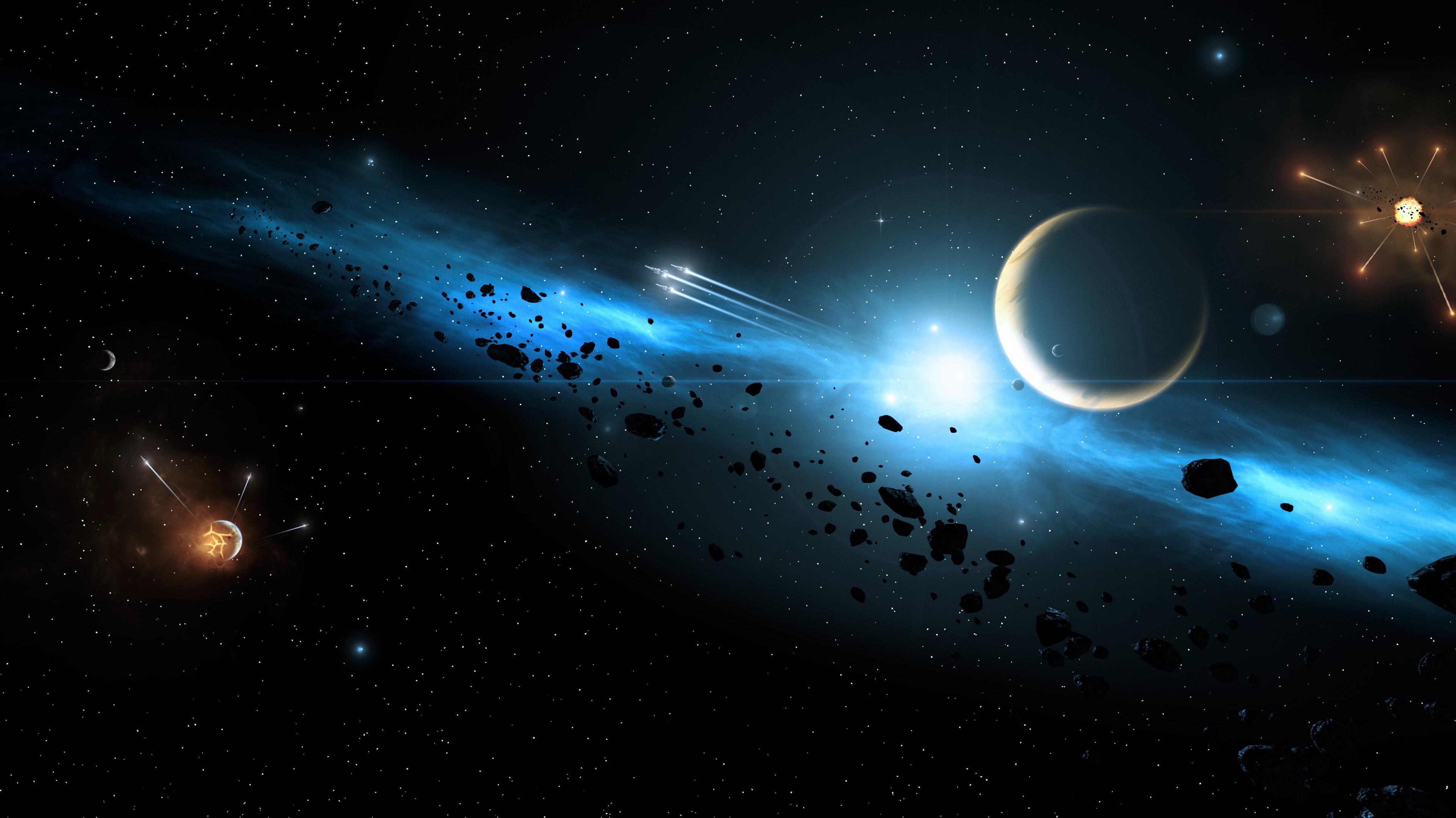 Fondos De Pantalla Galaxia, Planetas, Espacio, Naves