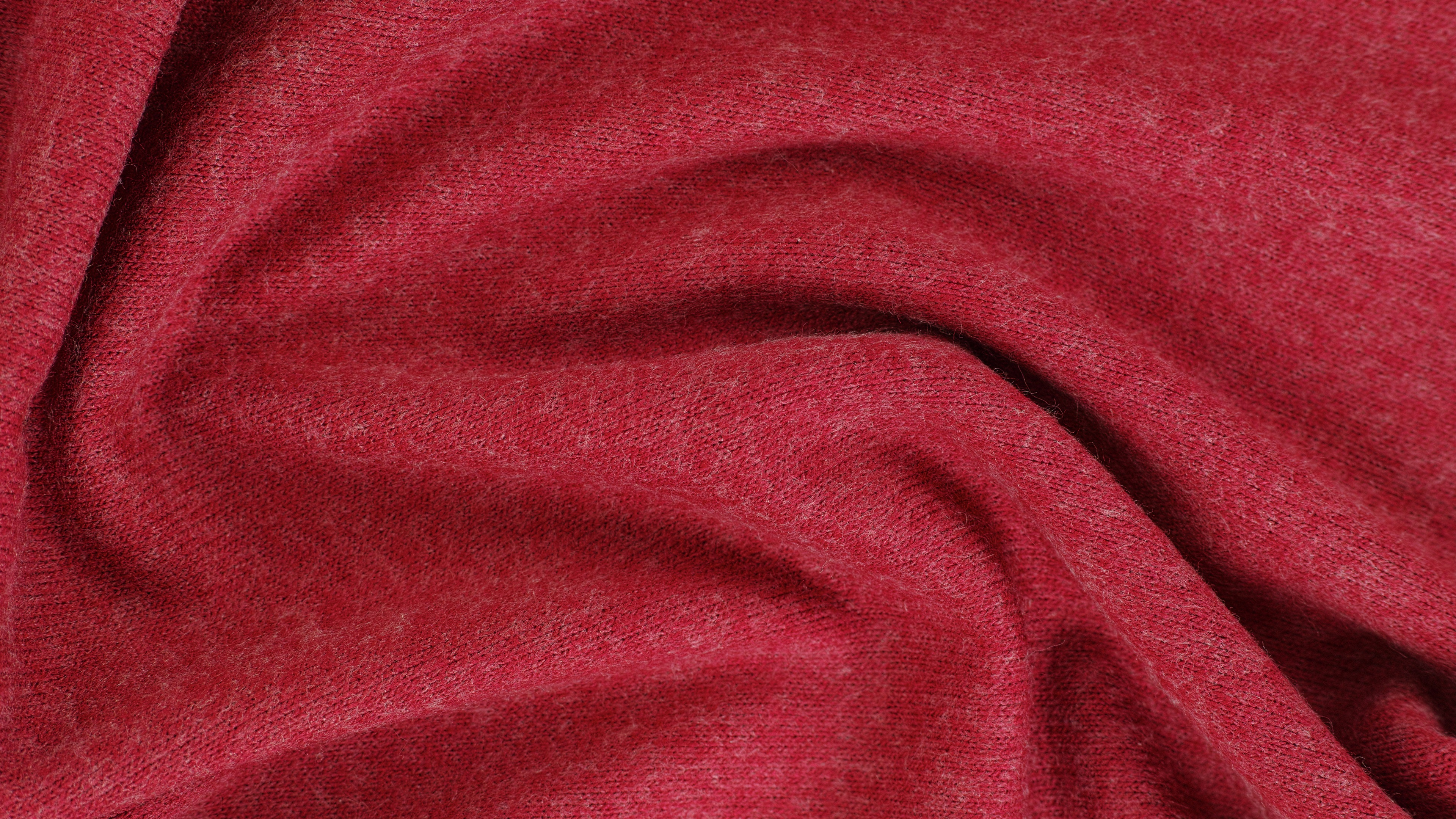 Wallpaper Red Fabric Texture 3840x2160 UHD 4K Picture Image