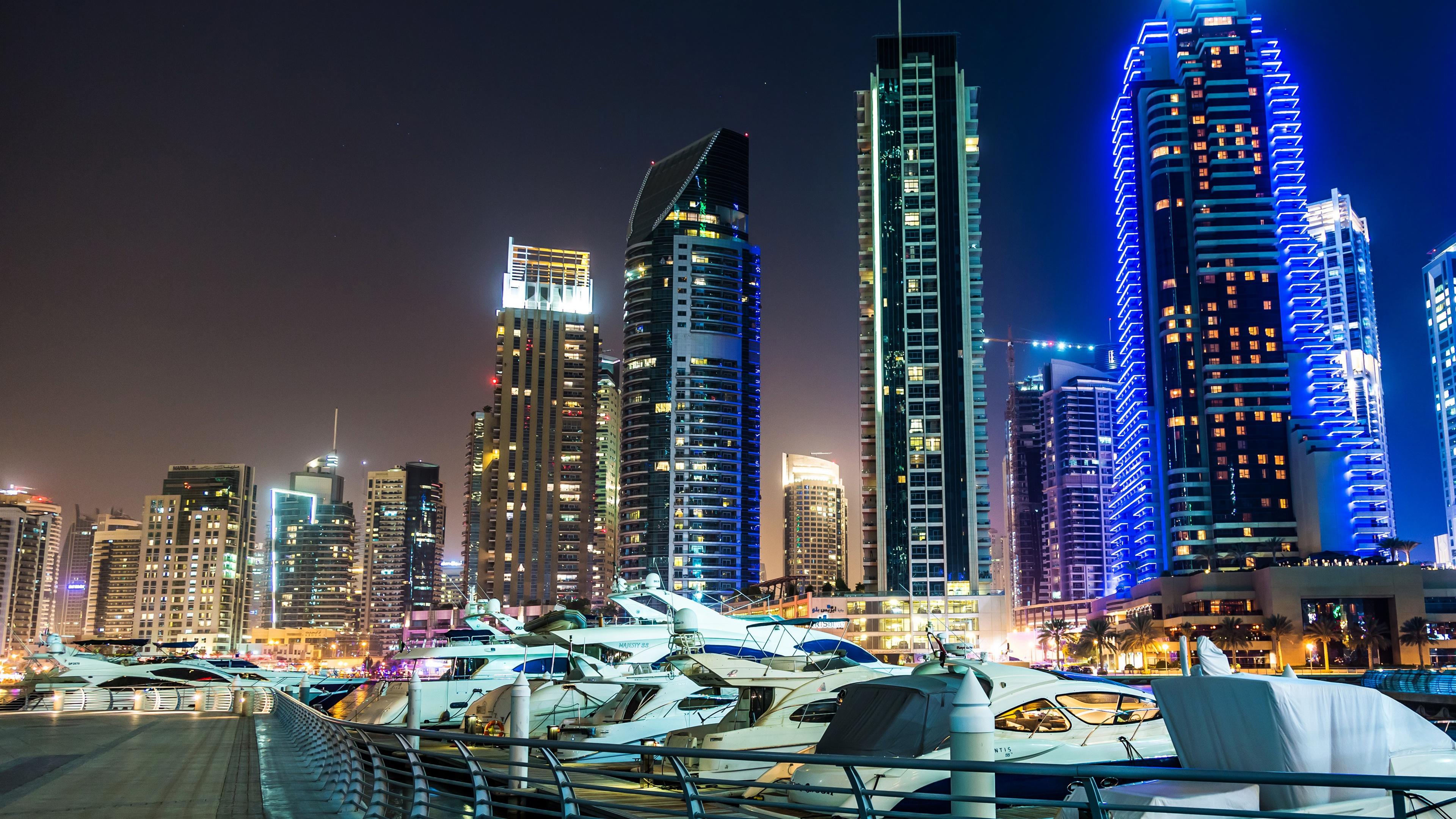 страны архитектура небоскреб рассвет Дубаи объединенные арабские эмираты  № 2209881  скачать