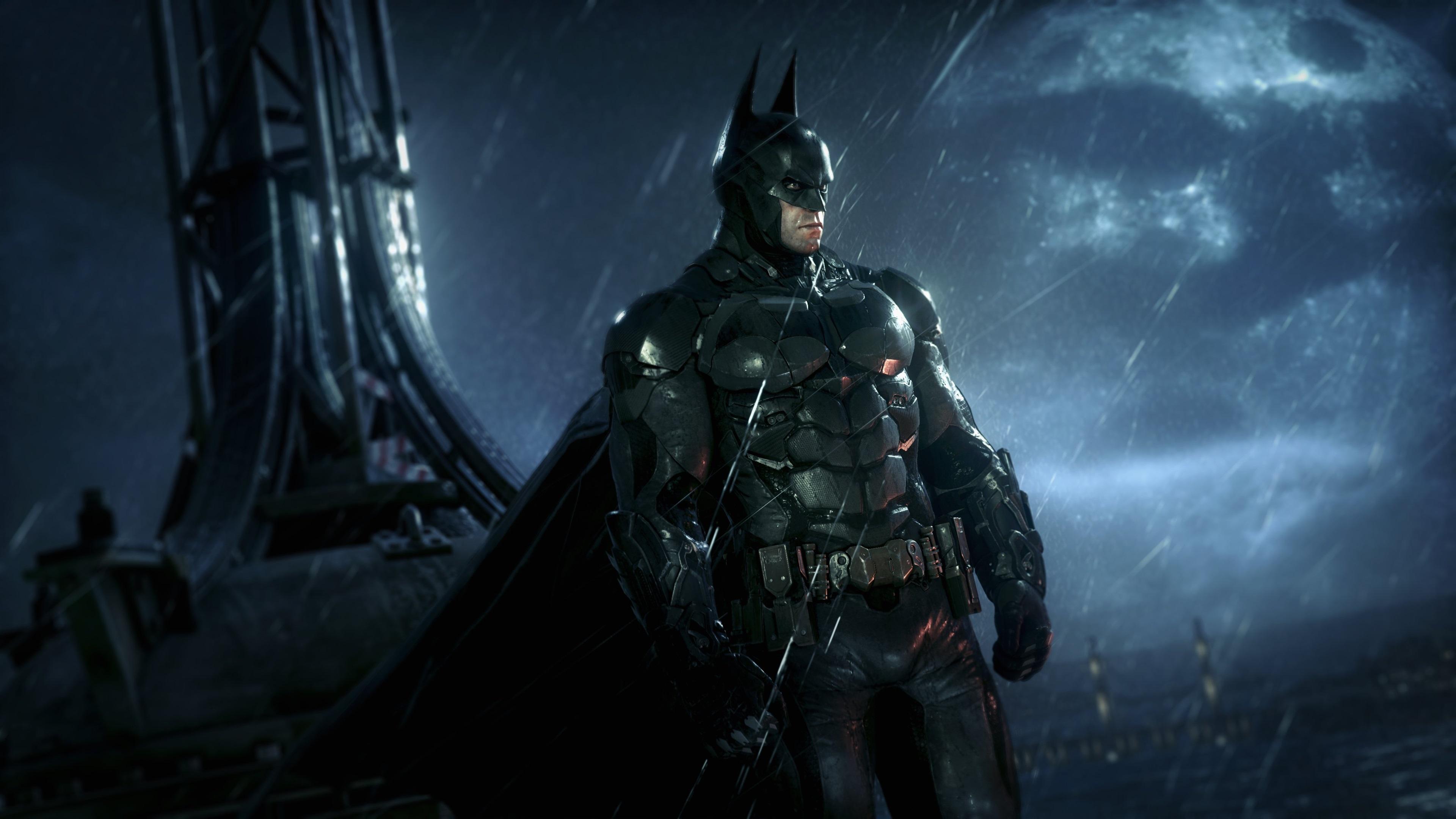 Fonds D Ecran Batman Arkham Knight Jeux Ps4 Nuit