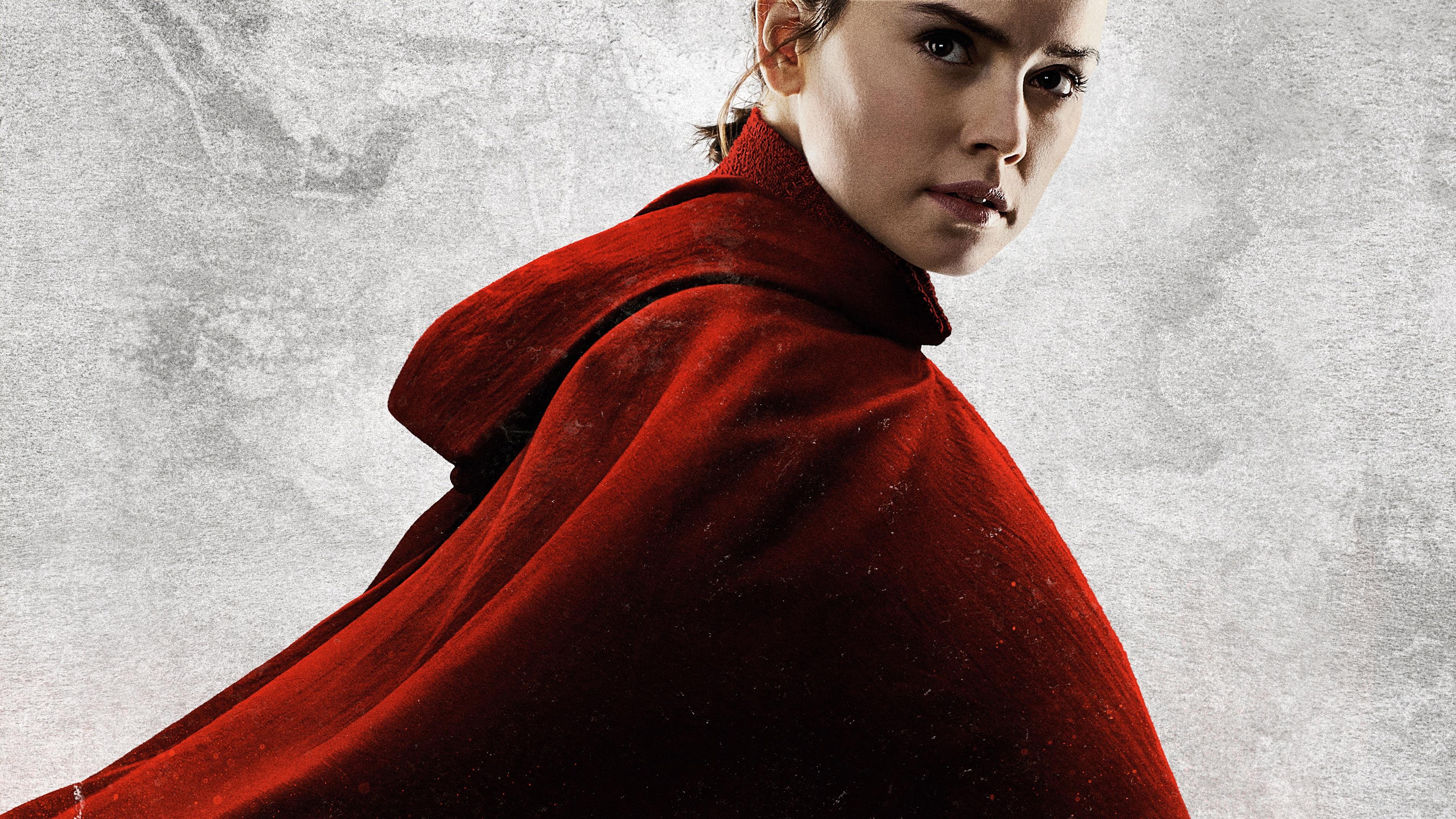 Wallpaper Daisy Ridley Star Wars The Last Jedi 3840x2160 Uhd 4k