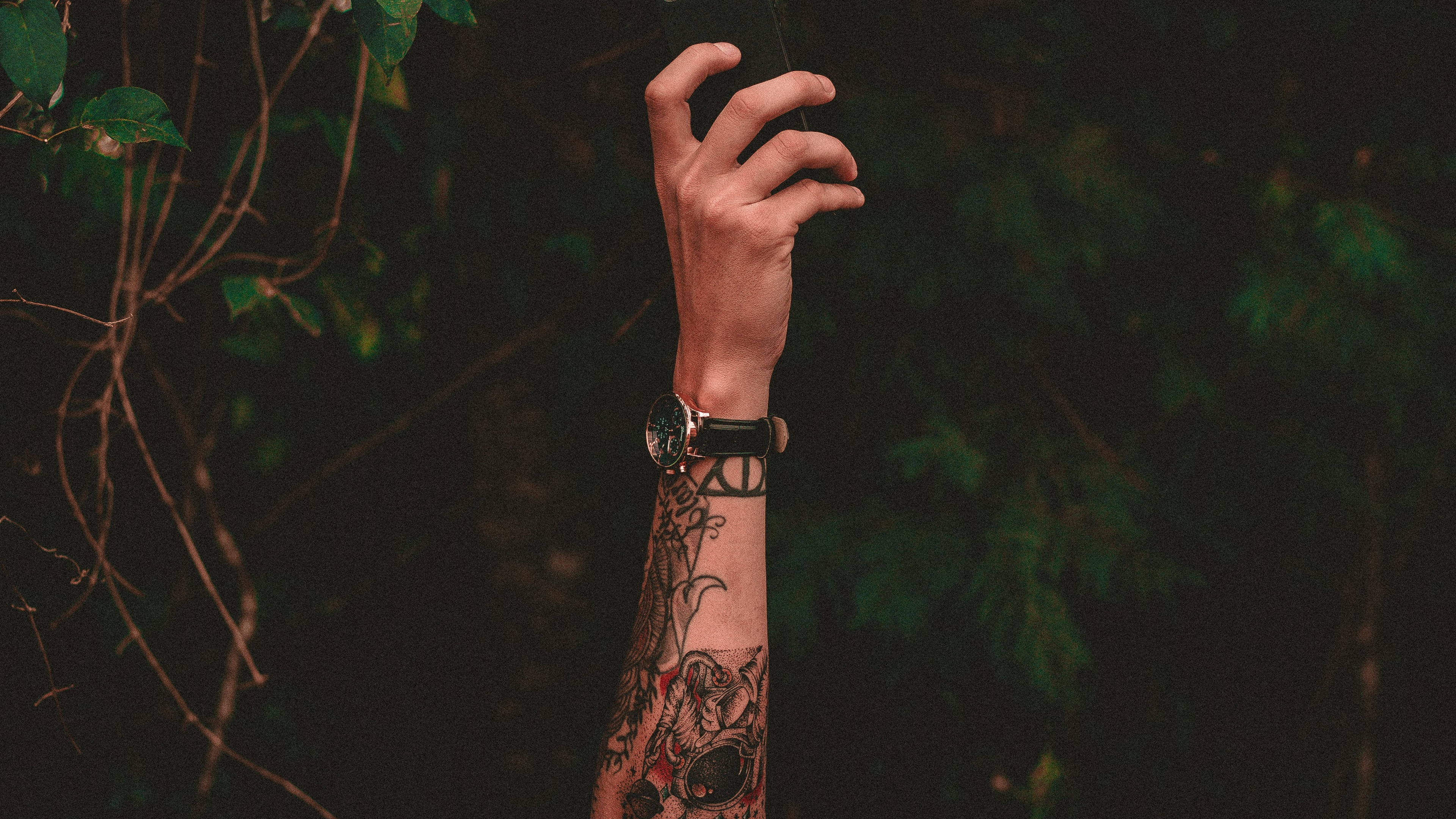 Wallpaper Hand Tattoo Watch 3840x2160 Uhd 4k Picture Image